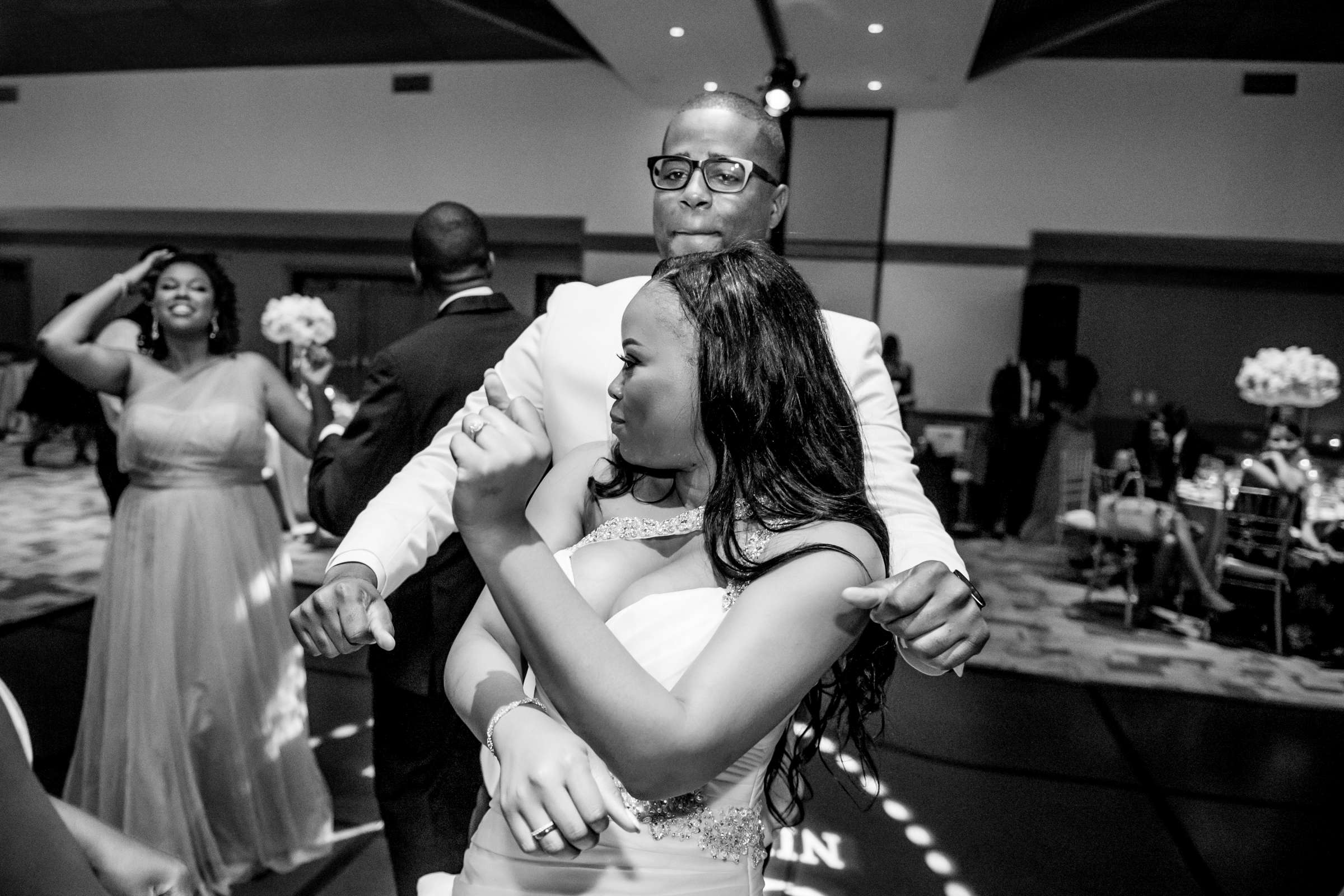 Coronado Community Center Wedding coordinated by First Comes Love Weddings & Events, Nikia and Charles Wedding Photo #84 by True Photography