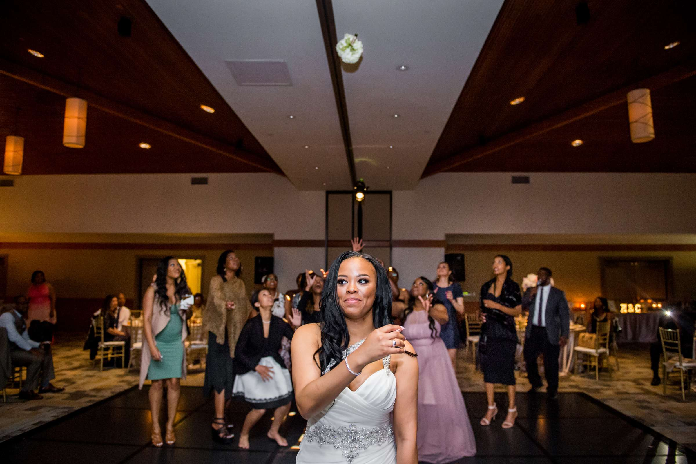 Coronado Community Center Wedding coordinated by First Comes Love Weddings & Events, Nikia and Charles Wedding Photo #96 by True Photography