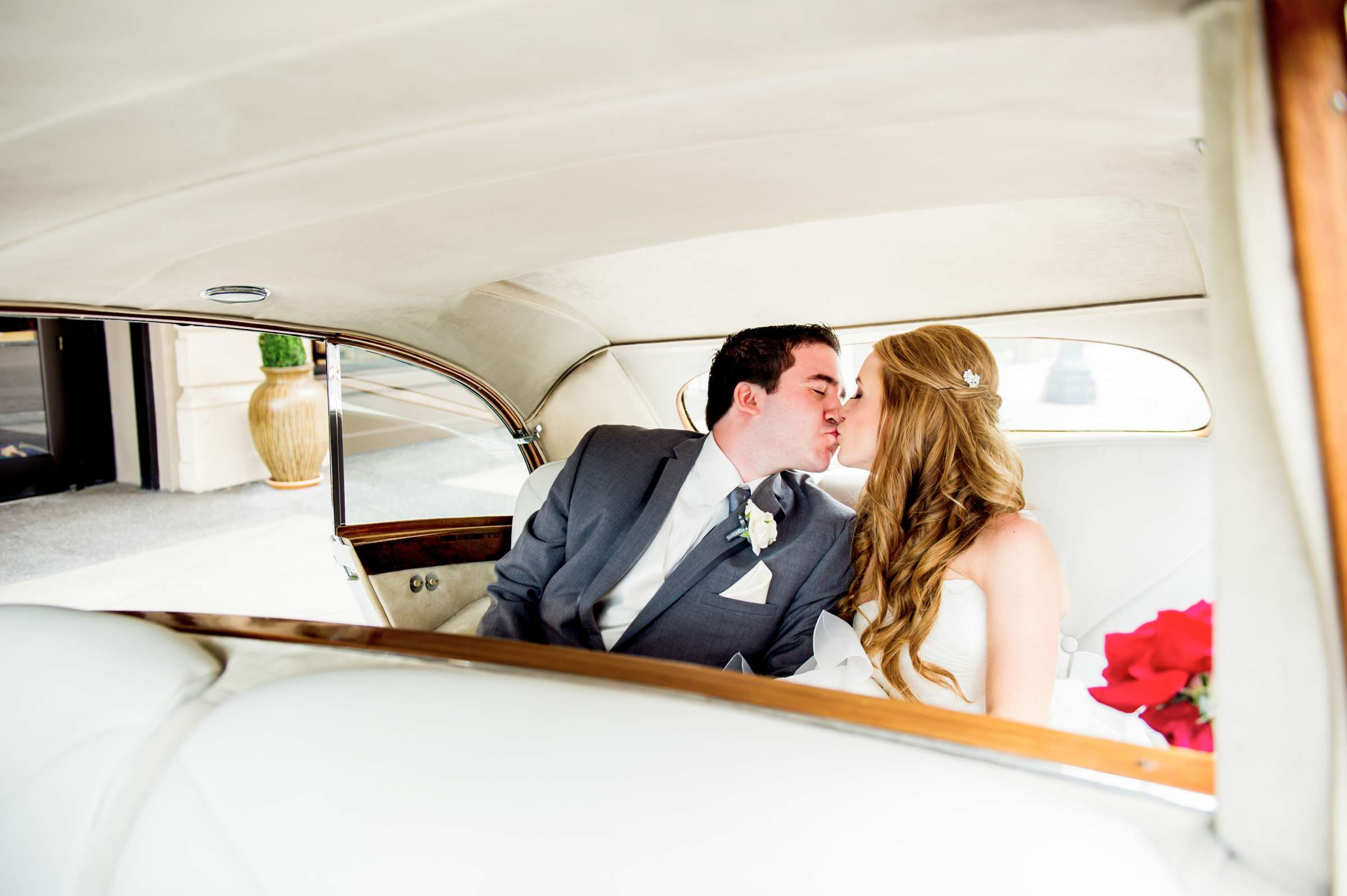 Transportation, Classical moment, Romantic moment at The Prado Wedding coordinated by Victoria Weddings & Events, Melissa and Andrew Wedding Photo #5 by True Photography