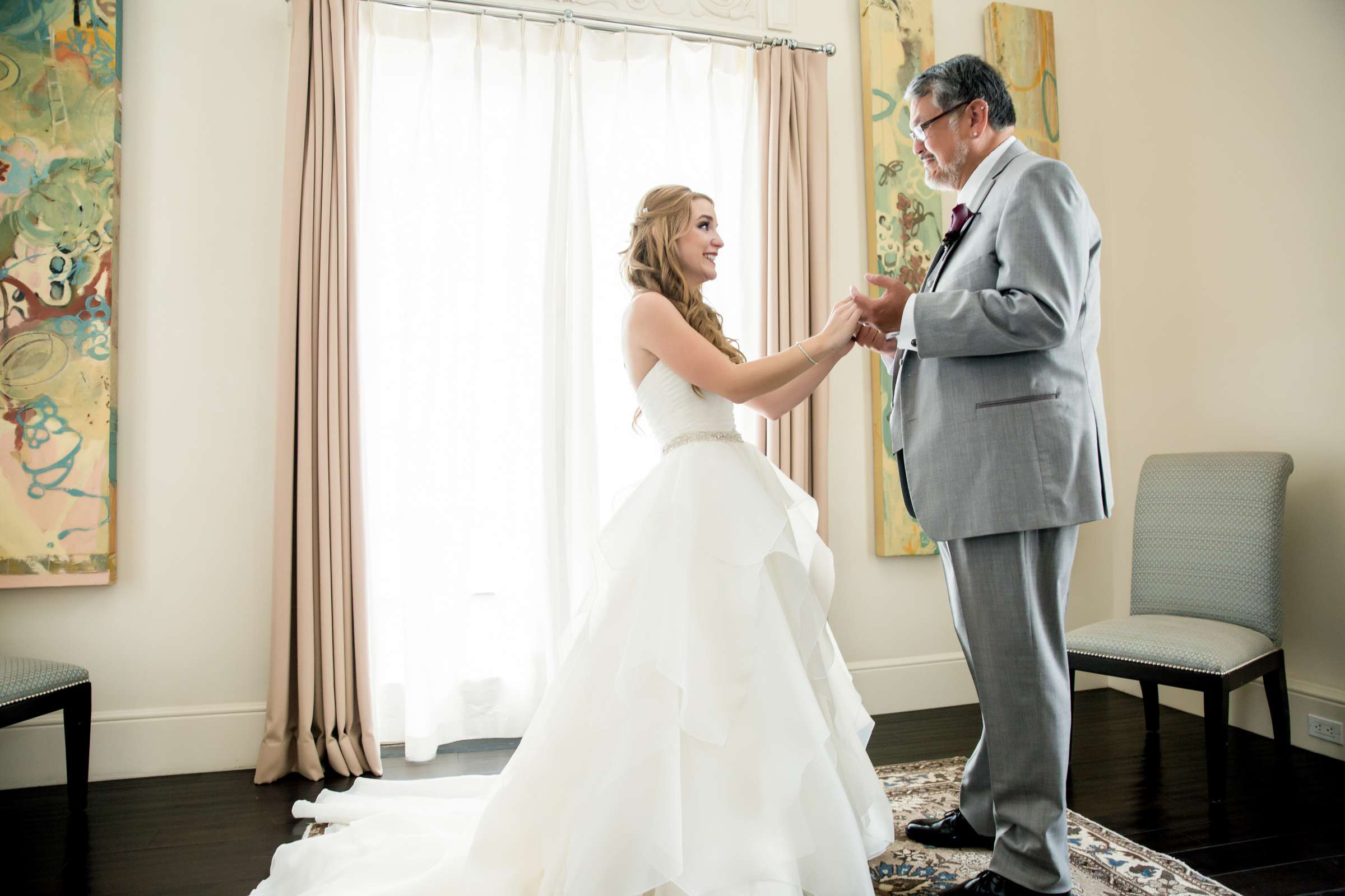 Father of the Bride at The Prado Wedding coordinated by Victoria Weddings & Events, Melissa and Andrew Wedding Photo #40 by True Photography
