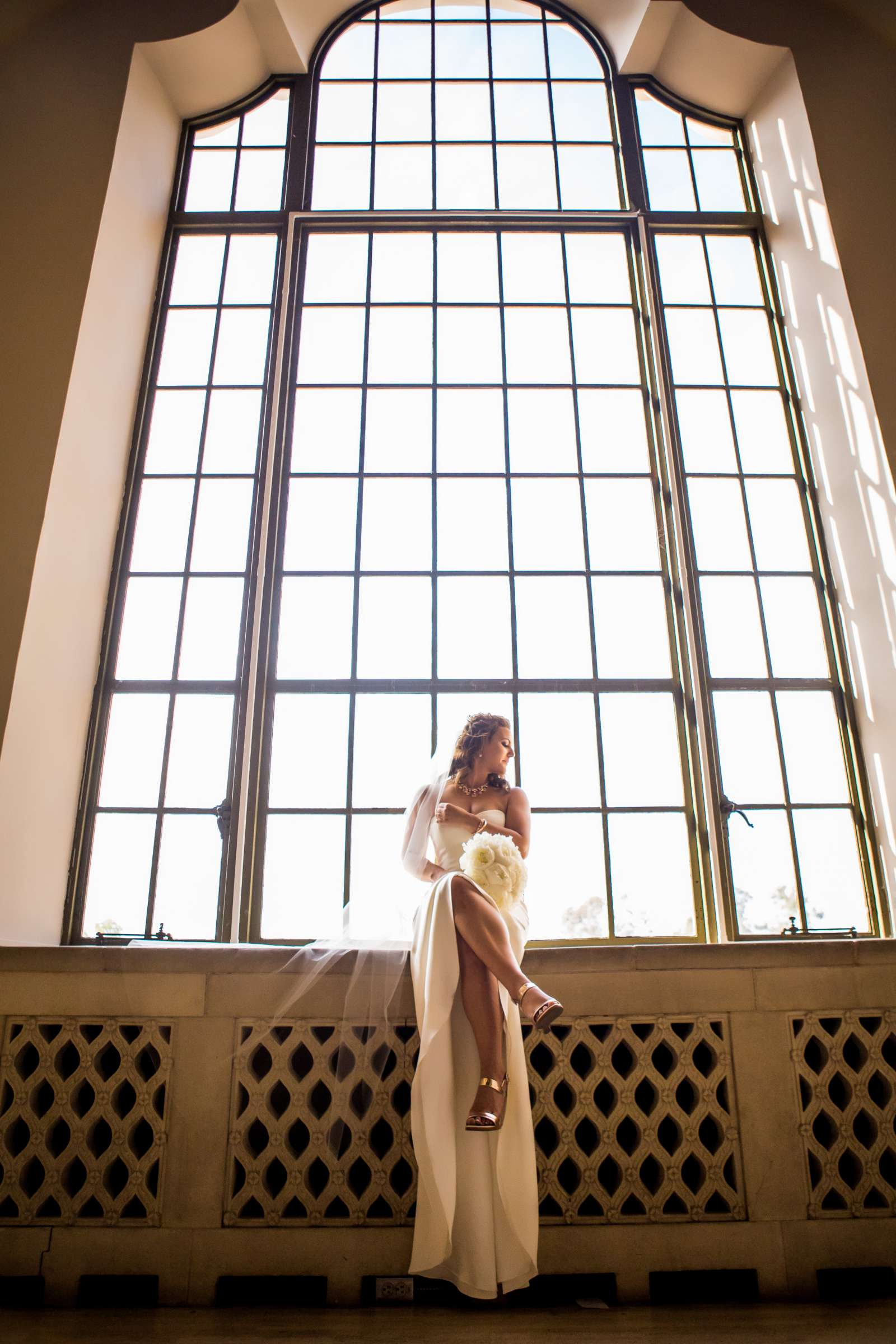 Bride at San Diego Museum of Art Wedding coordinated by First Comes Love Weddings & Events, Ruthie and Larry Wedding Photo #236746 by True Photography