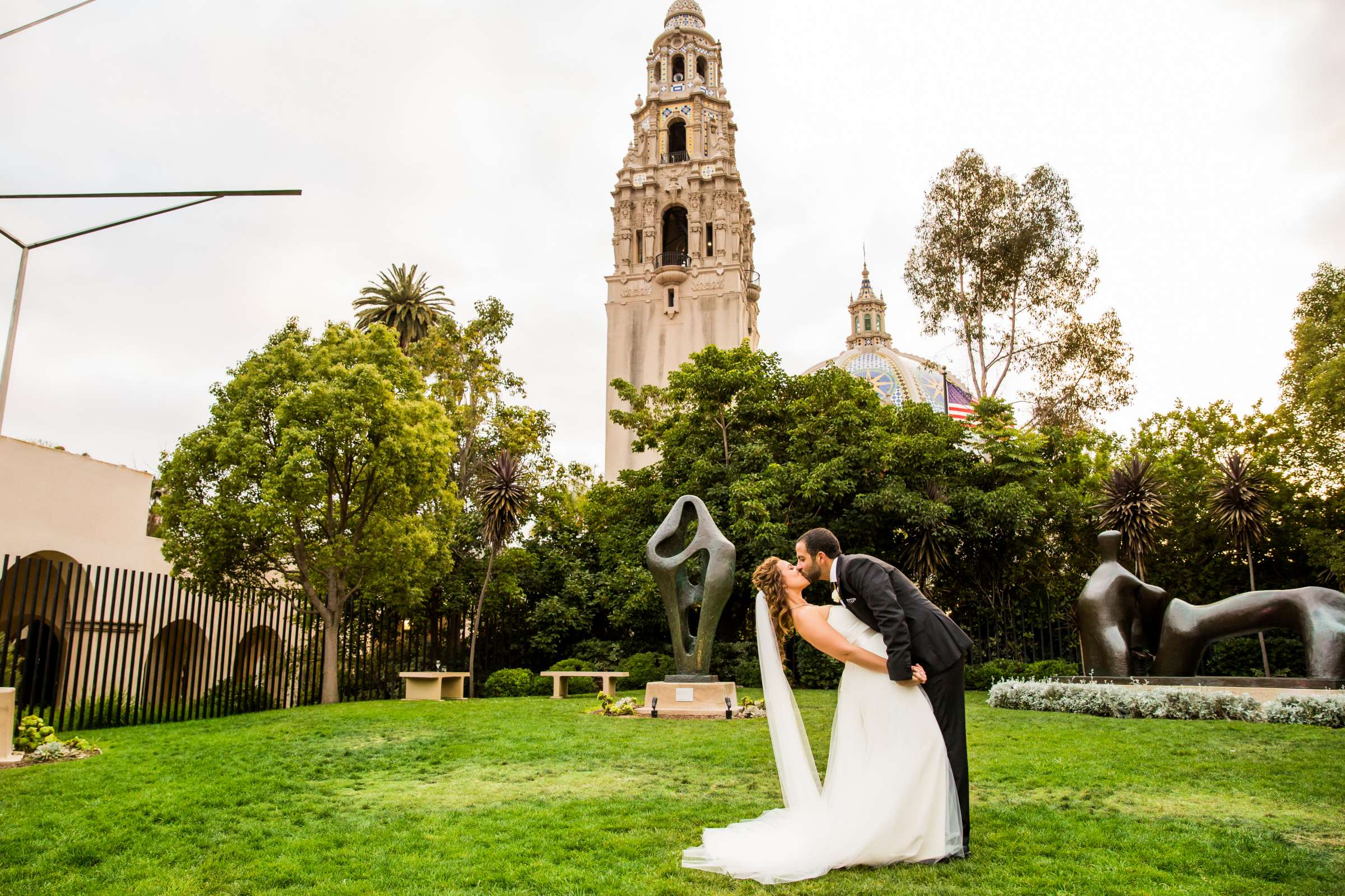 San Diego Museum of Art Wedding coordinated by First Comes Love Weddings & Events, Ruthie and Larry Wedding Photo #236755 by True Photography