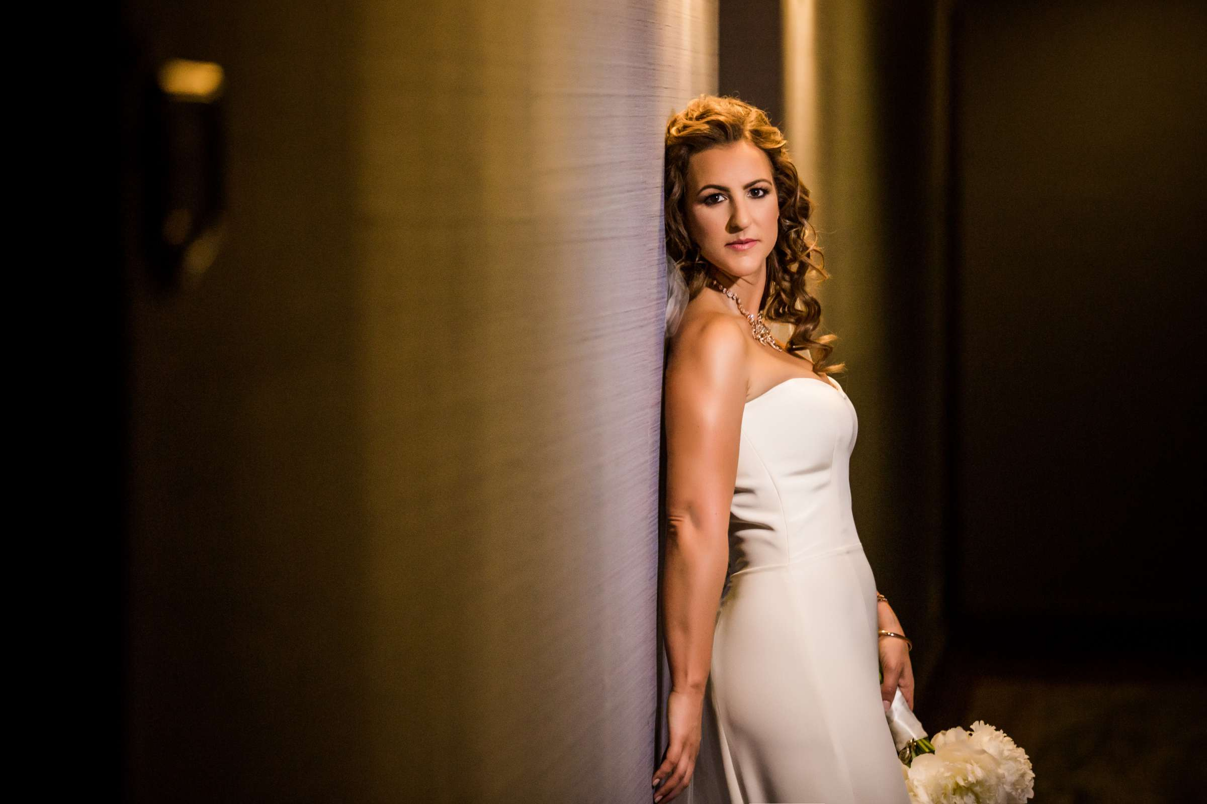 Bride at San Diego Museum of Art Wedding coordinated by First Comes Love Weddings & Events, Ruthie and Larry Wedding Photo #236756 by True Photography
