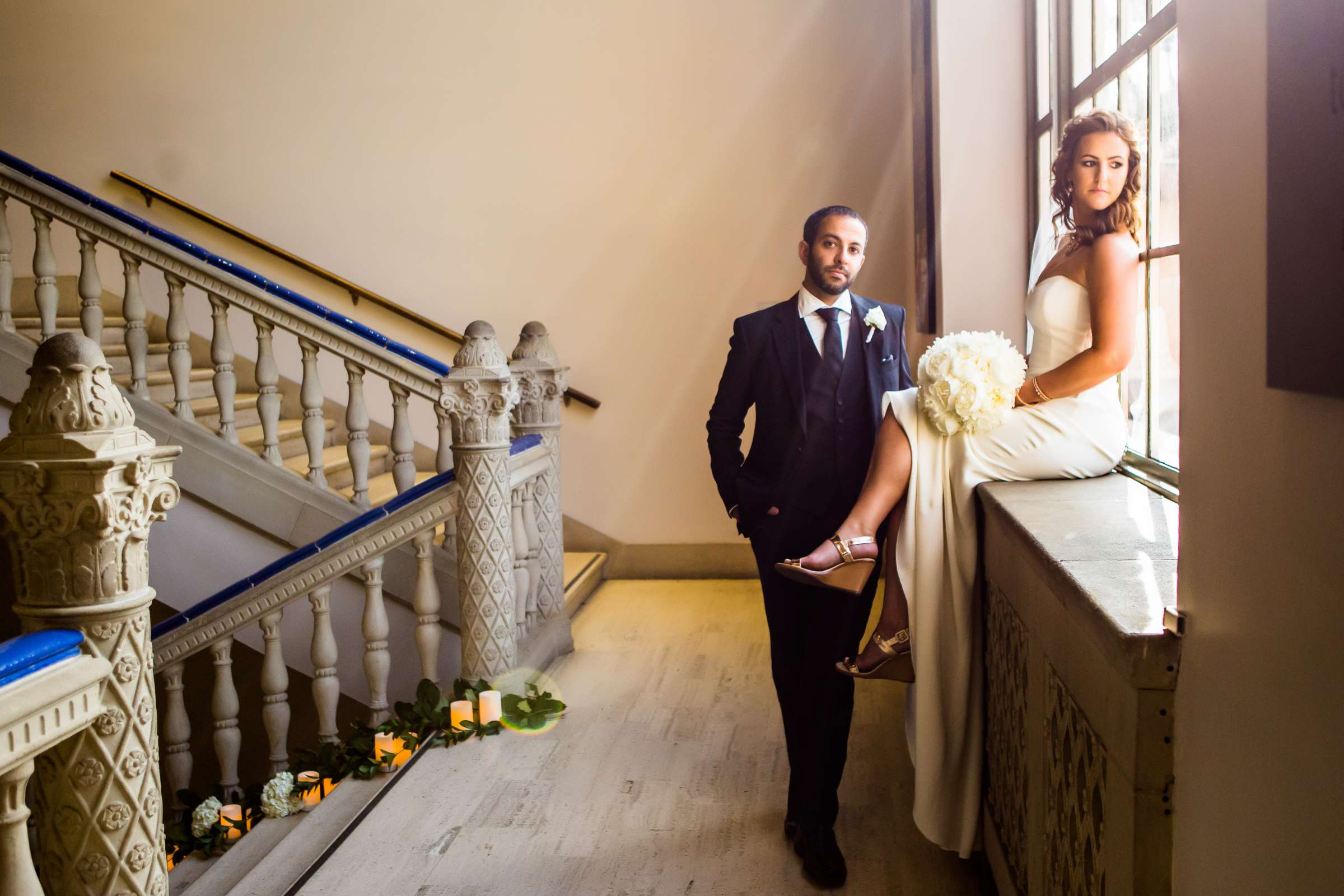 San Diego Museum of Art Wedding coordinated by First Comes Love Weddings & Events, Ruthie and Larry Wedding Photo #236759 by True Photography