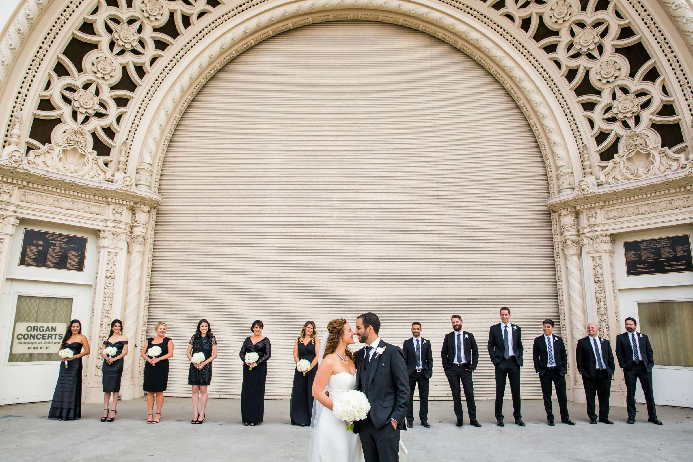 San Diego Museum of Art Wedding coordinated by First Comes Love Weddings & Events, Ruthie and Larry Wedding Photo #236760 by True Photography