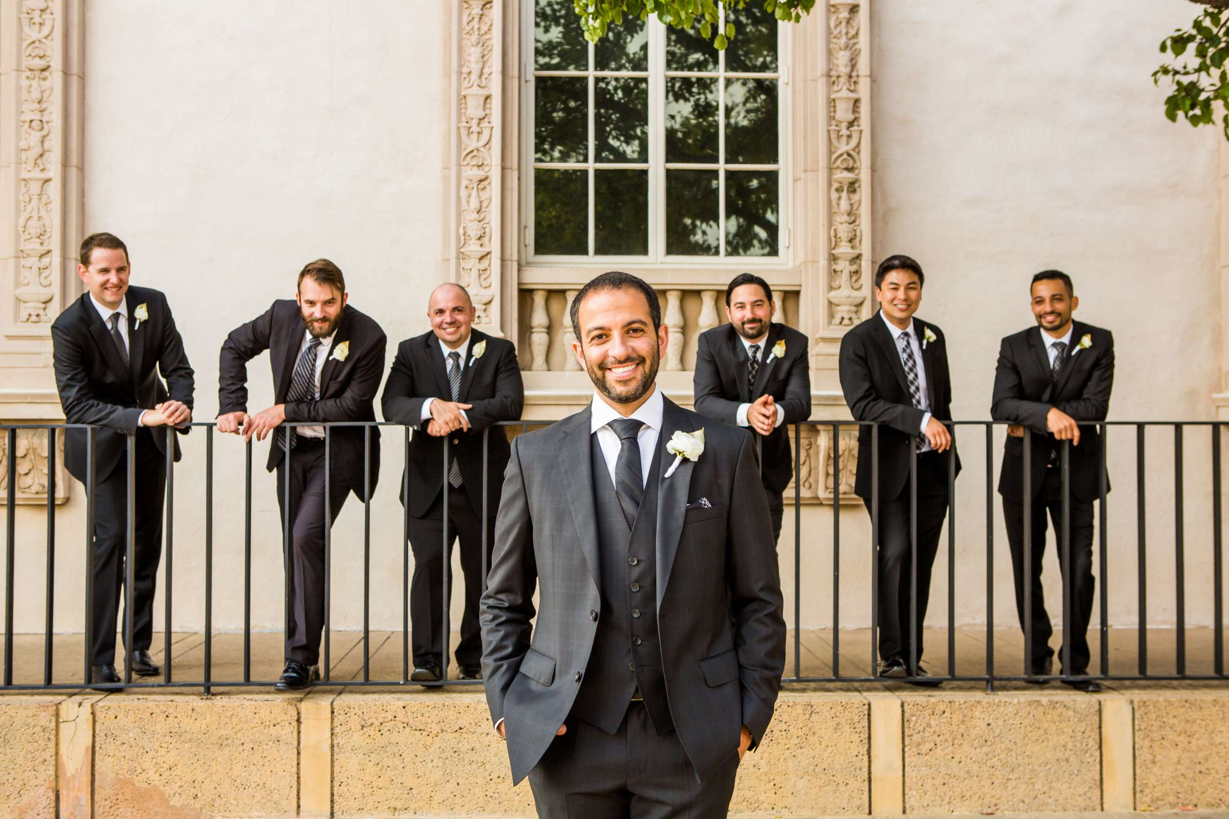 San Diego Museum of Art Wedding coordinated by First Comes Love Weddings & Events, Ruthie and Larry Wedding Photo #236779 by True Photography