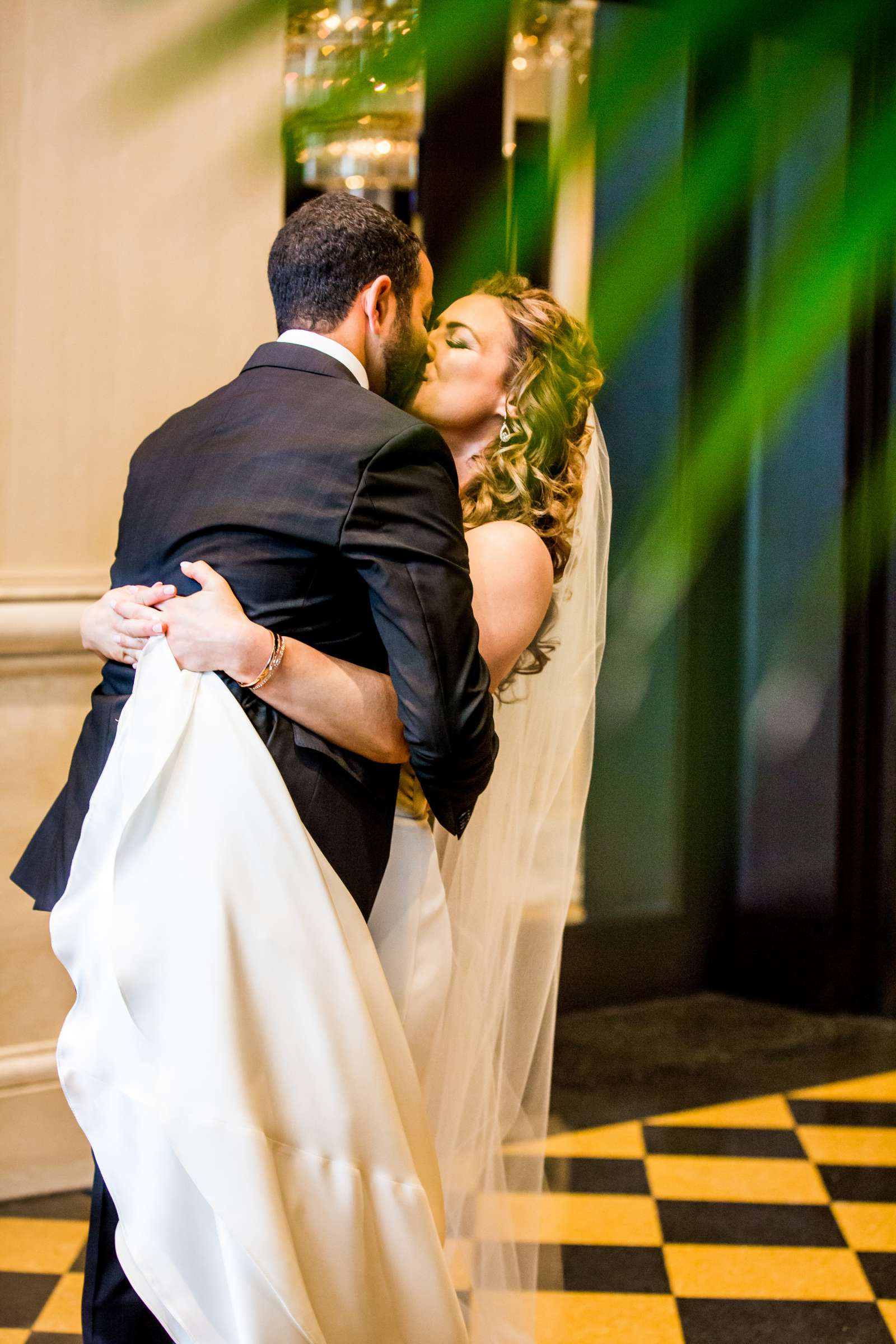 First Look at San Diego Museum of Art Wedding coordinated by First Comes Love Weddings & Events, Ruthie and Larry Wedding Photo #236785 by True Photography