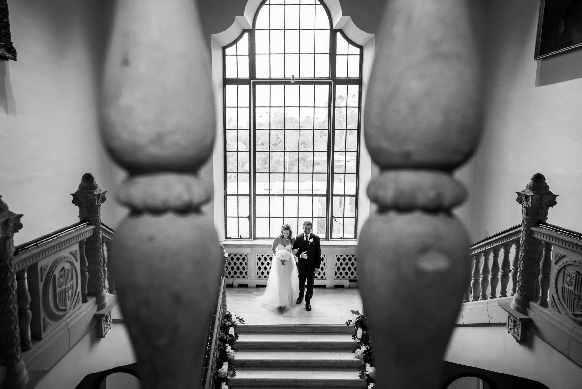 San Diego Museum of Art Wedding coordinated by First Comes Love Weddings & Events, Ruthie and Larry Wedding Photo #236795 by True Photography