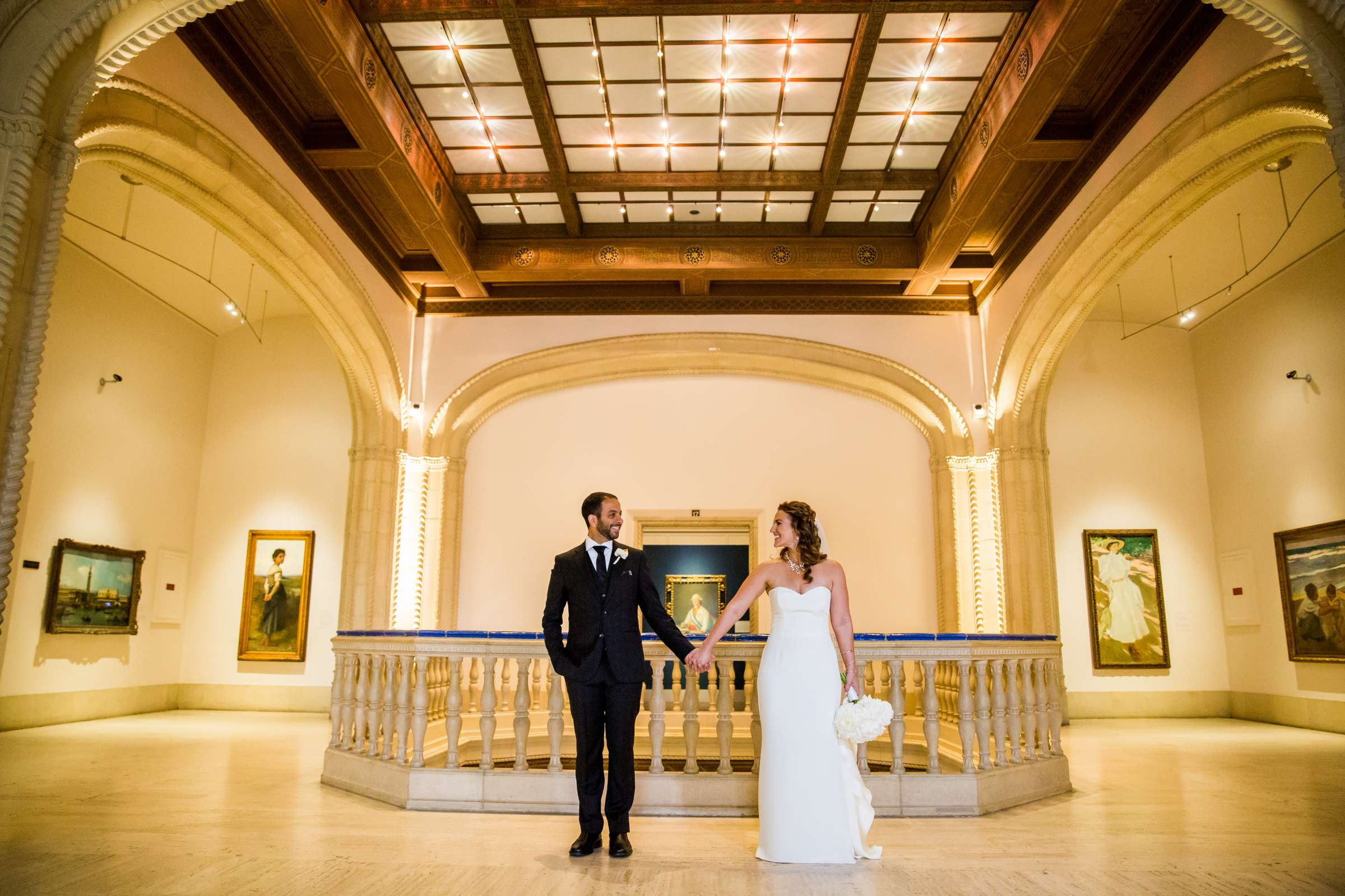 San Diego Museum of Art Wedding coordinated by First Comes Love Weddings & Events, Ruthie and Larry Wedding Photo #236797 by True Photography