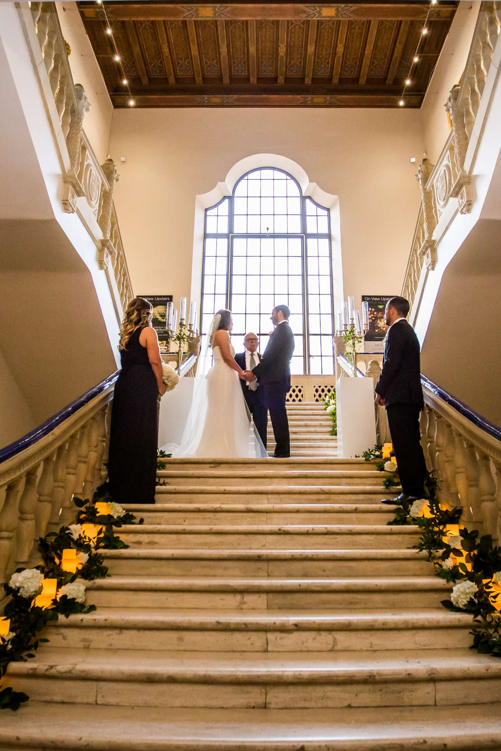 San Diego Museum of Art Wedding coordinated by First Comes Love Weddings & Events, Ruthie and Larry Wedding Photo #236799 by True Photography