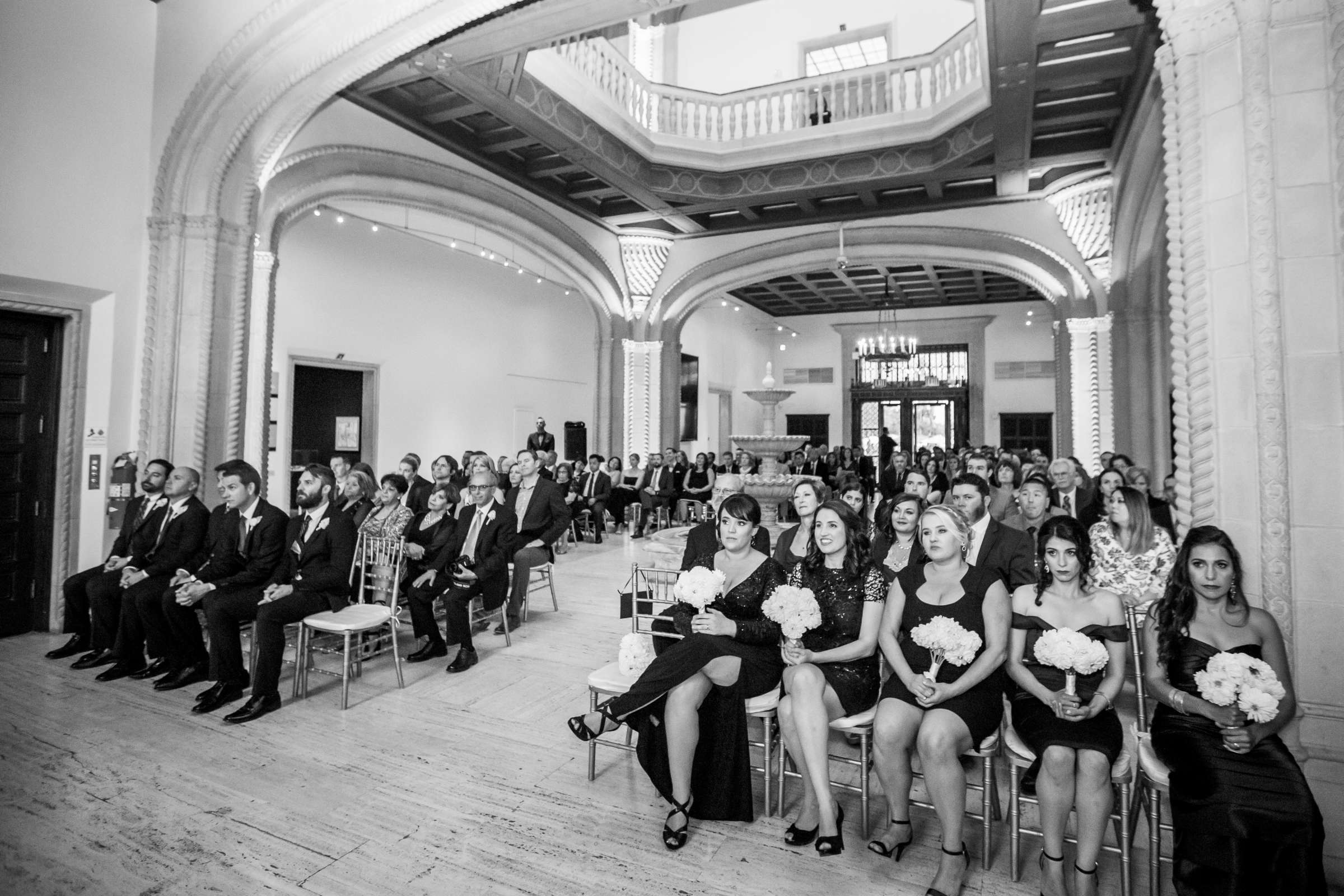 San Diego Museum of Art Wedding coordinated by First Comes Love Weddings & Events, Ruthie and Larry Wedding Photo #236800 by True Photography