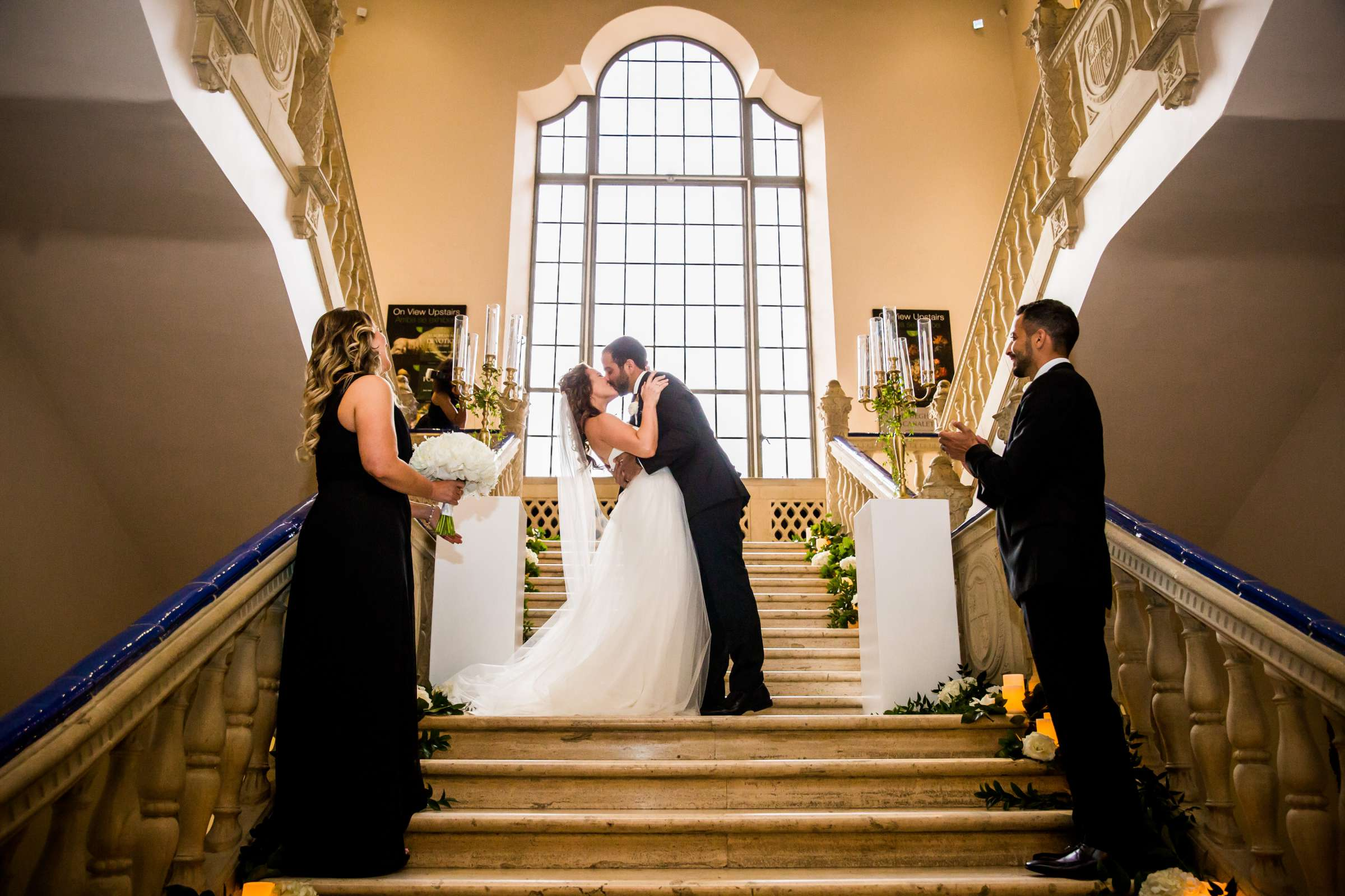 San Diego Museum of Art Wedding coordinated by First Comes Love Weddings & Events, Ruthie and Larry Wedding Photo #236803 by True Photography