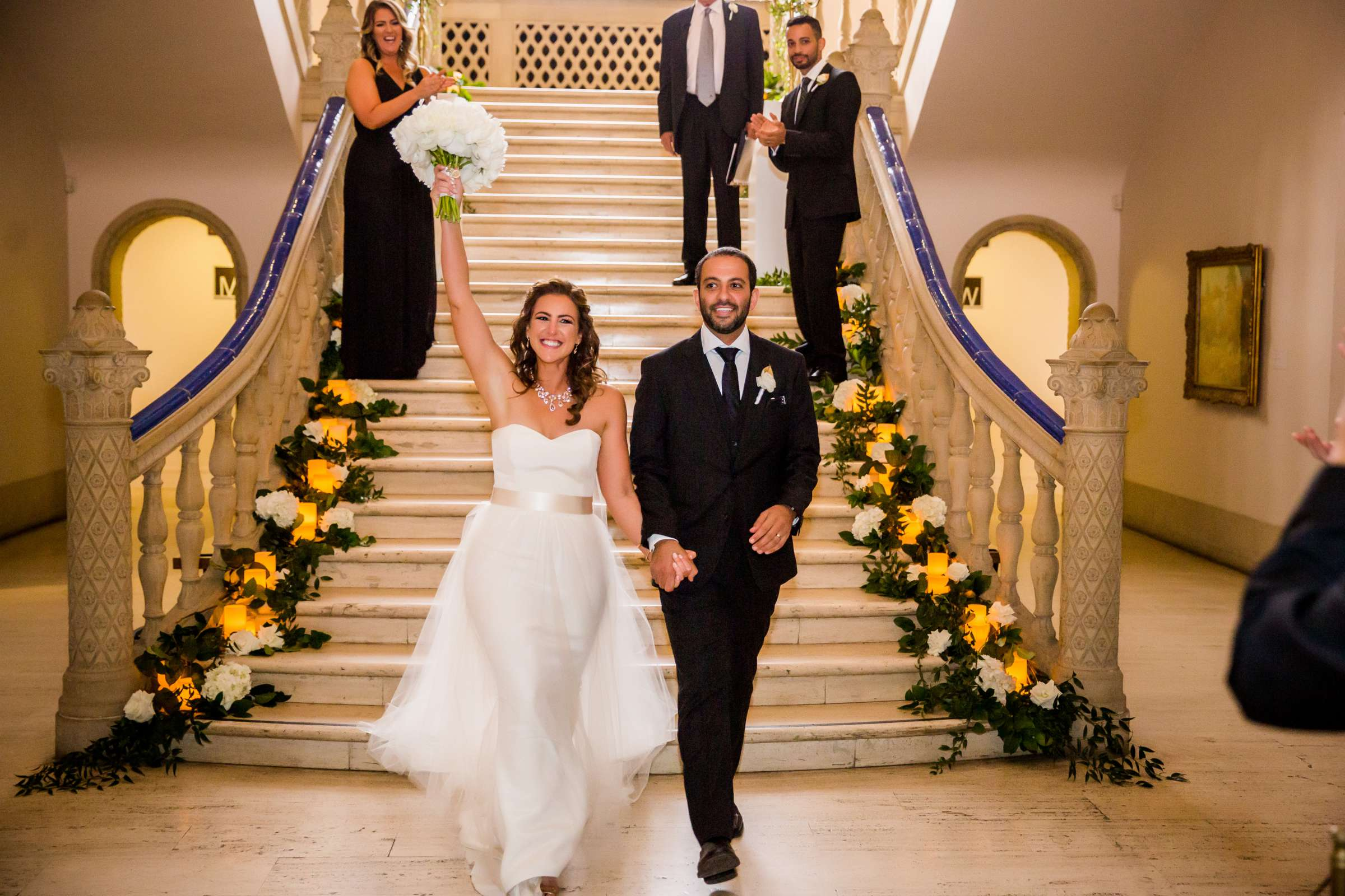 San Diego Museum of Art Wedding coordinated by First Comes Love Weddings & Events, Ruthie and Larry Wedding Photo #236806 by True Photography