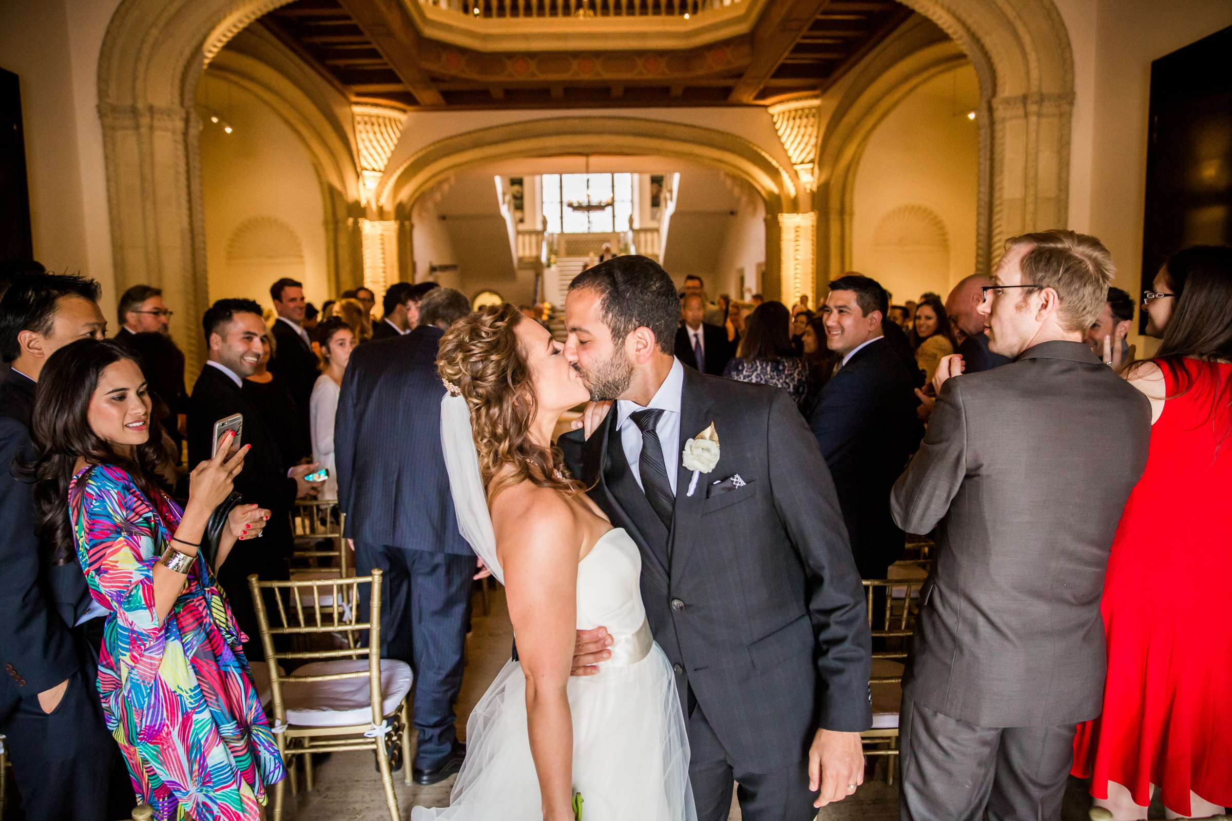 San Diego Museum of Art Wedding coordinated by First Comes Love Weddings & Events, Ruthie and Larry Wedding Photo #236807 by True Photography