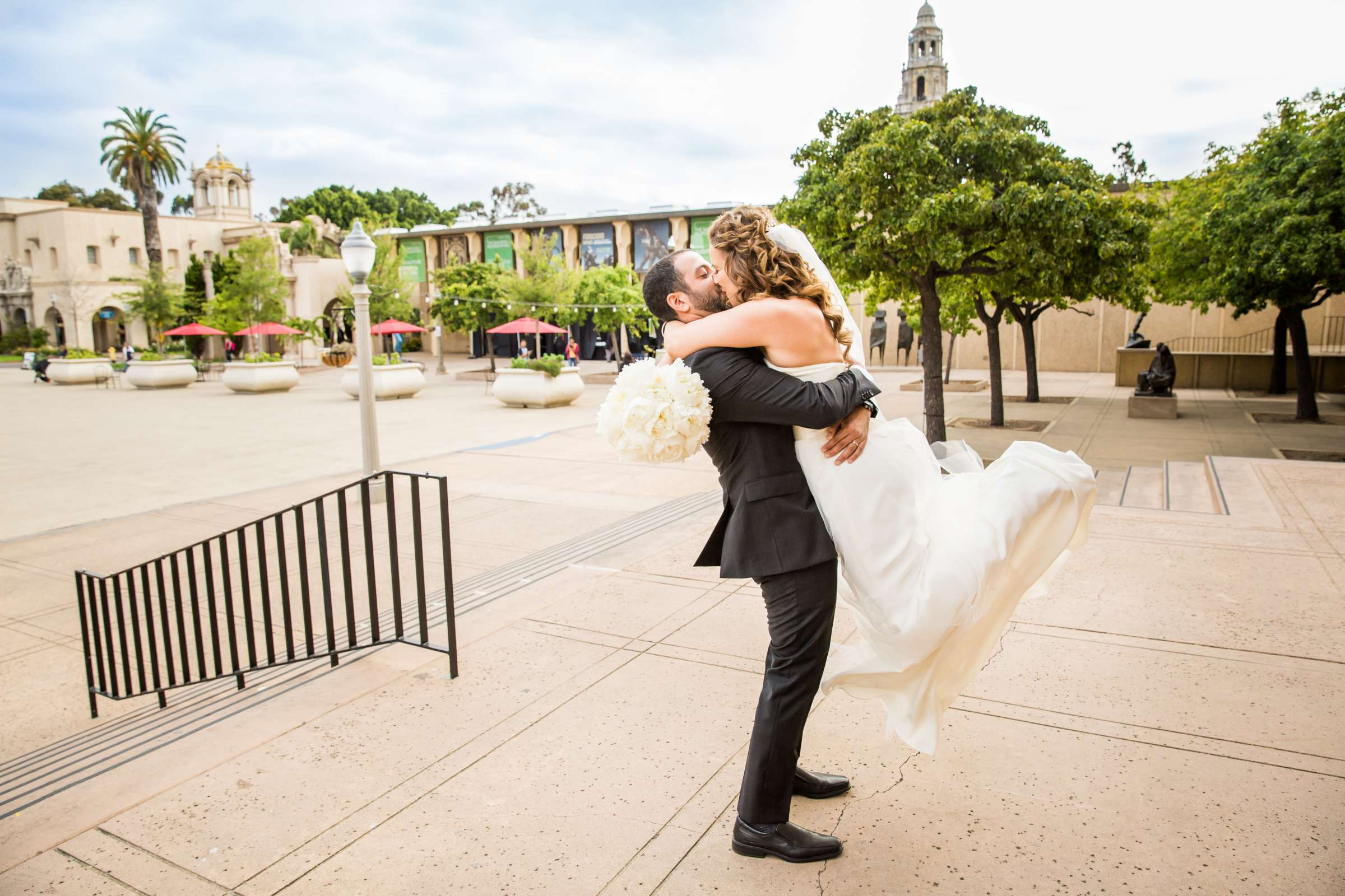 San Diego Museum of Art Wedding coordinated by First Comes Love Weddings & Events, Ruthie and Larry Wedding Photo #236808 by True Photography