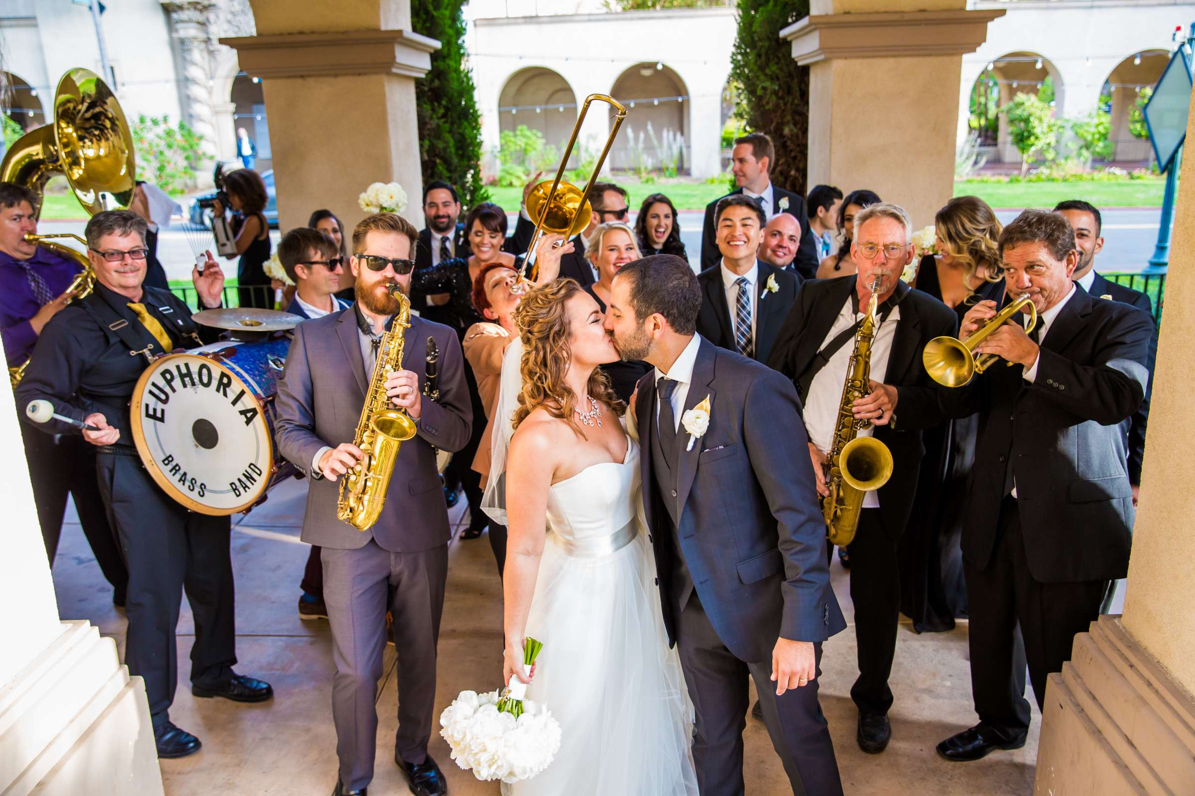 Musicians at San Diego Museum of Art Wedding coordinated by First Comes Love Weddings & Events, Ruthie and Larry Wedding Photo #236812 by True Photography