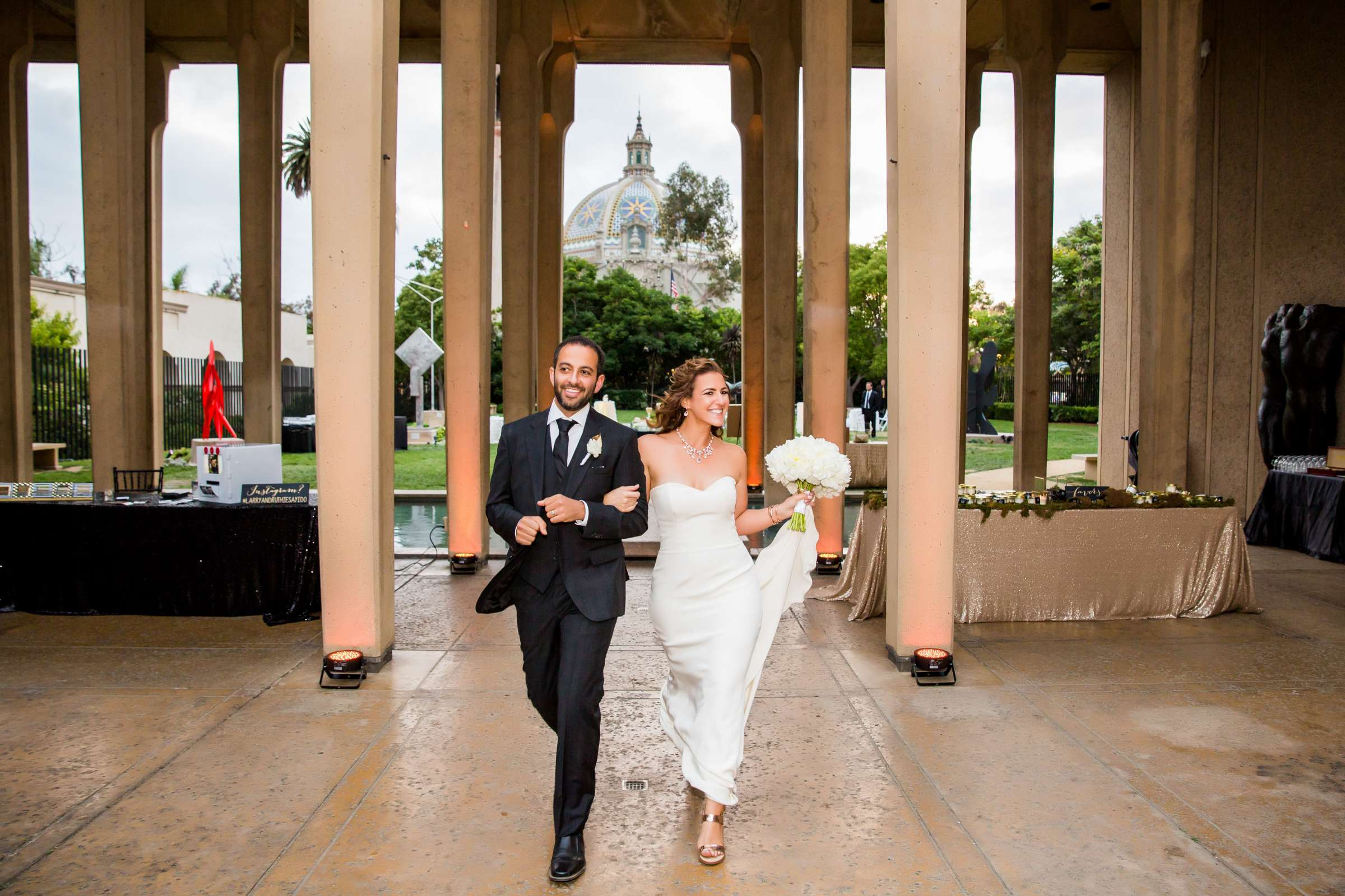 San Diego Museum of Art Wedding coordinated by First Comes Love Weddings & Events, Ruthie and Larry Wedding Photo #236842 by True Photography