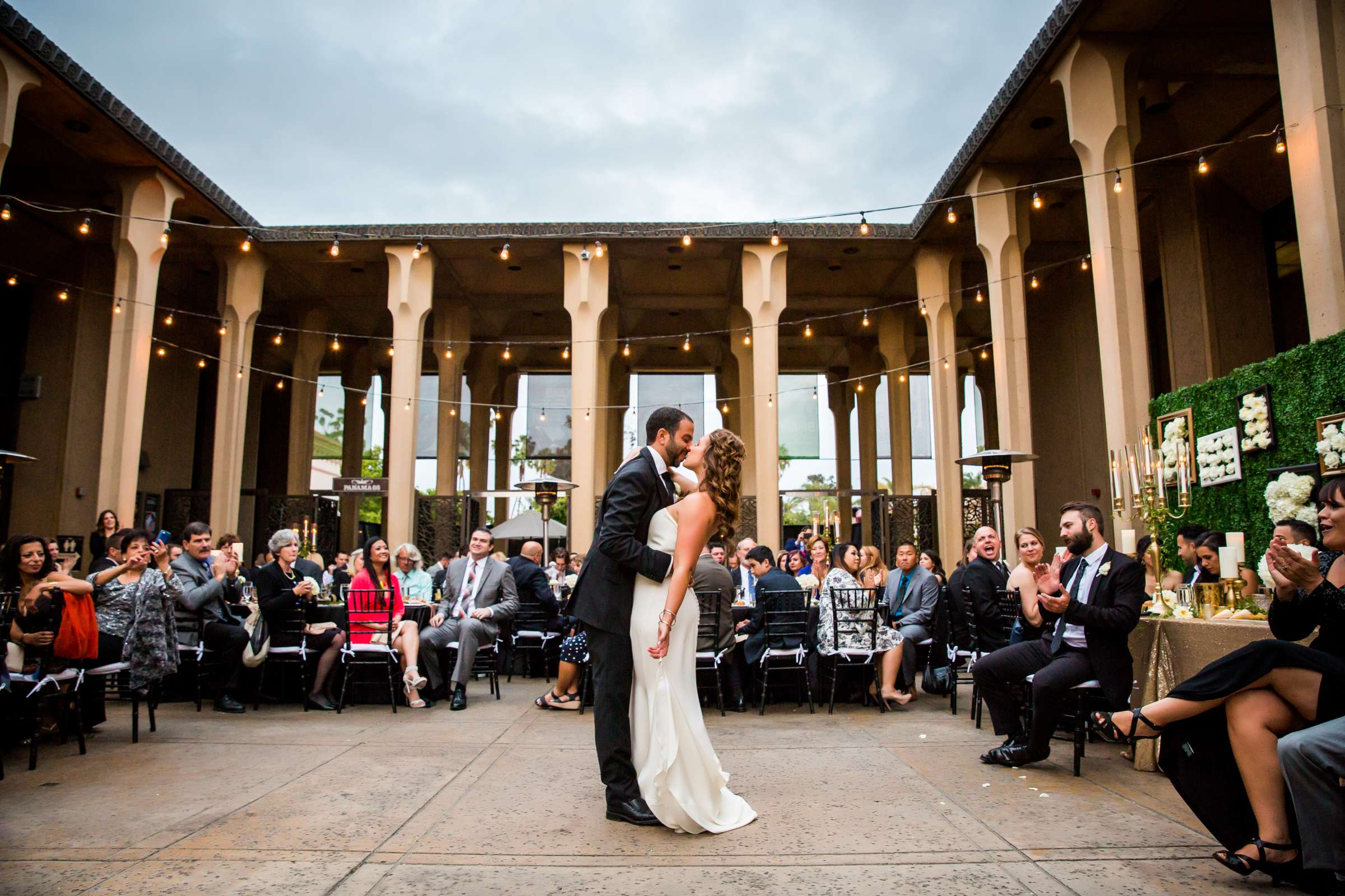 San Diego Museum of Art Wedding coordinated by First Comes Love Weddings & Events, Ruthie and Larry Wedding Photo #236845 by True Photography