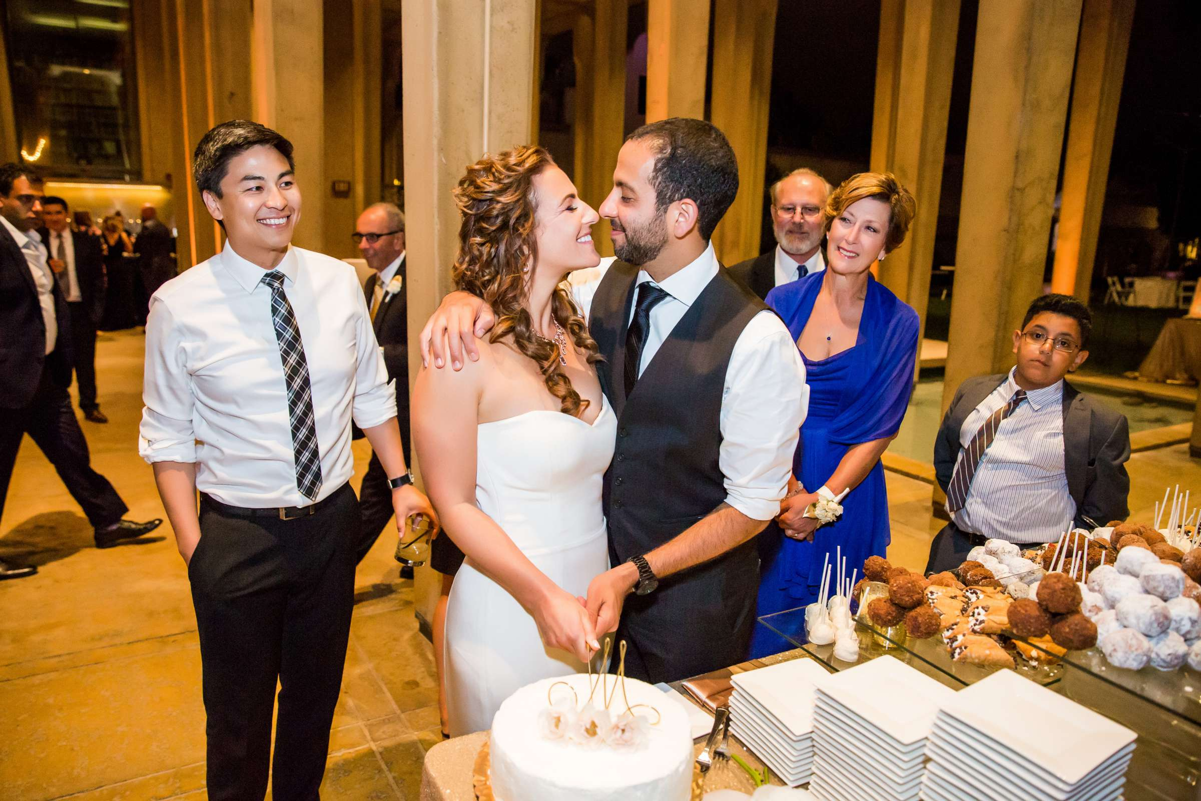 San Diego Museum of Art Wedding coordinated by First Comes Love Weddings & Events, Ruthie and Larry Wedding Photo #236852 by True Photography