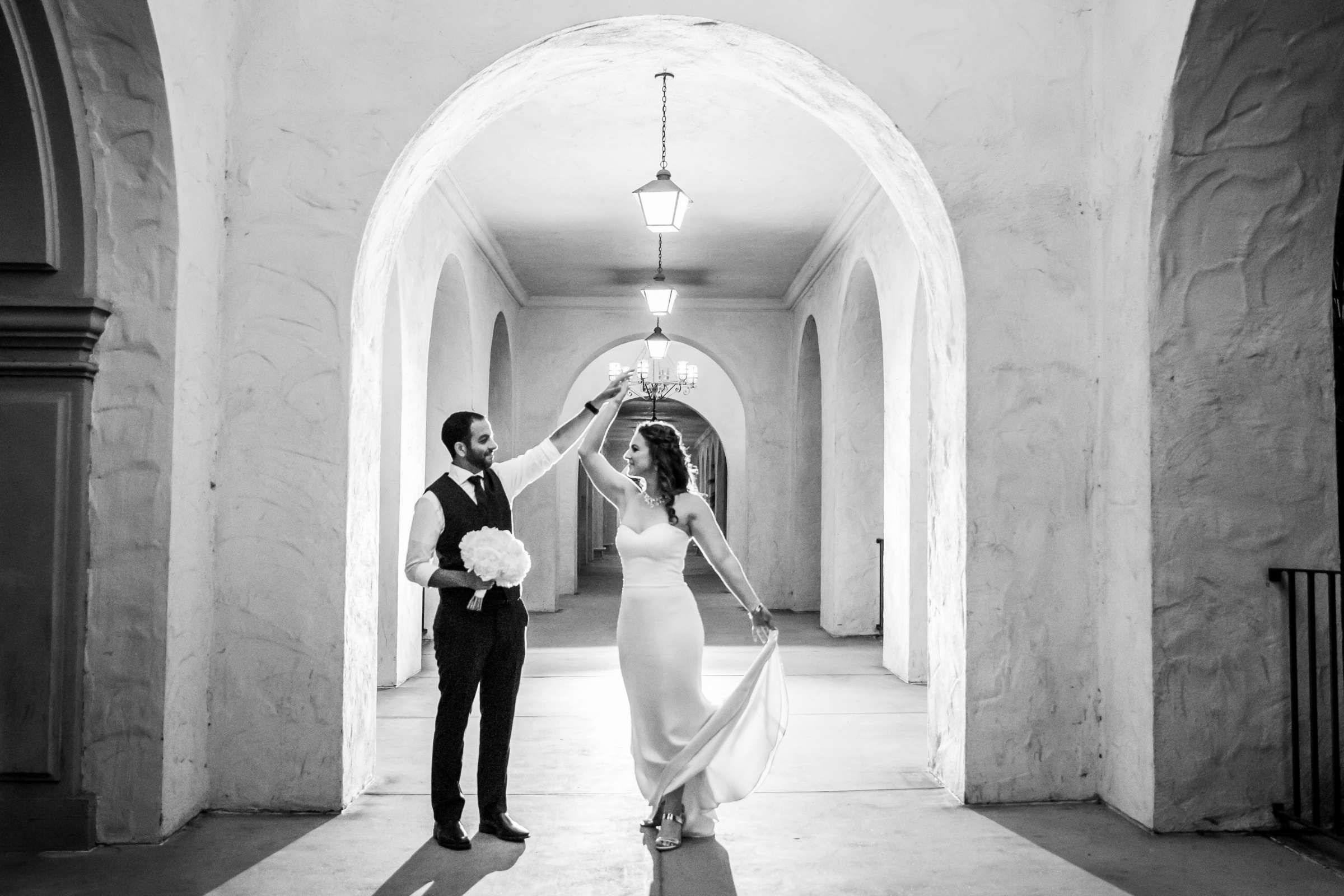 San Diego Museum of Art Wedding coordinated by First Comes Love Weddings & Events, Ruthie and Larry Wedding Photo #236855 by True Photography