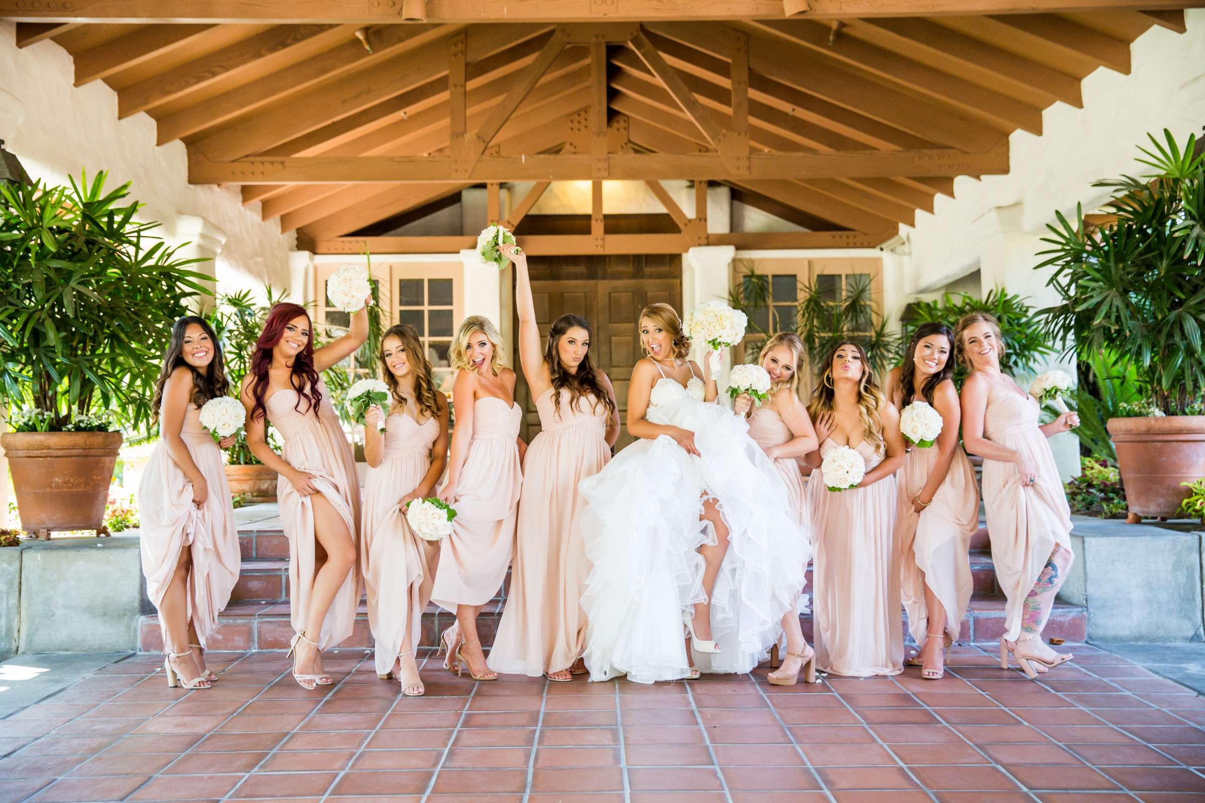 Fairbanks Ranch Country Club Wedding coordinated by Monarch Weddings, Gabriella and Kyle Wedding Photo #7 by True Photography