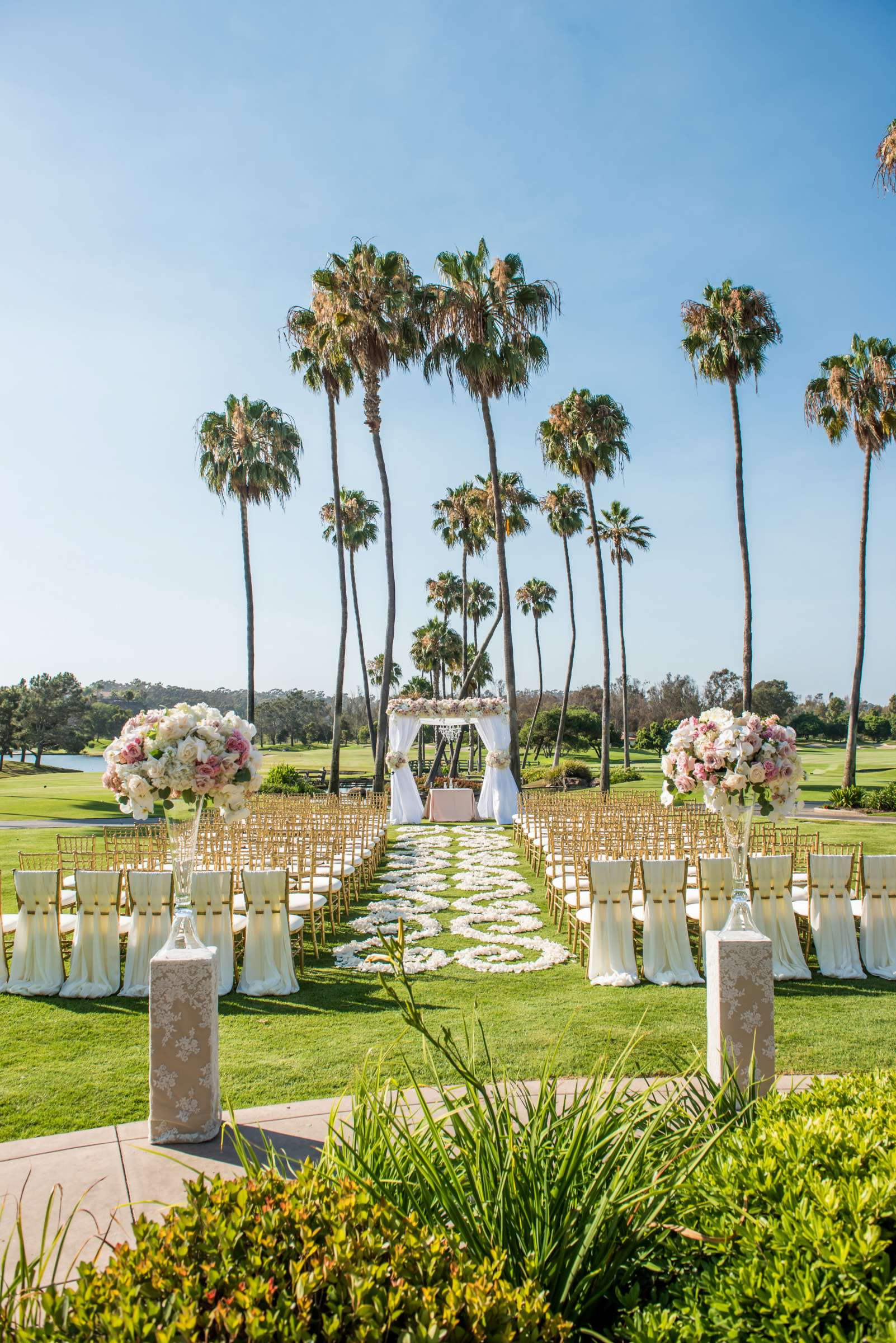 Fairbanks Ranch Country Club Wedding coordinated by Monarch Weddings, Gabriella and Kyle Wedding Photo #11 by True Photography