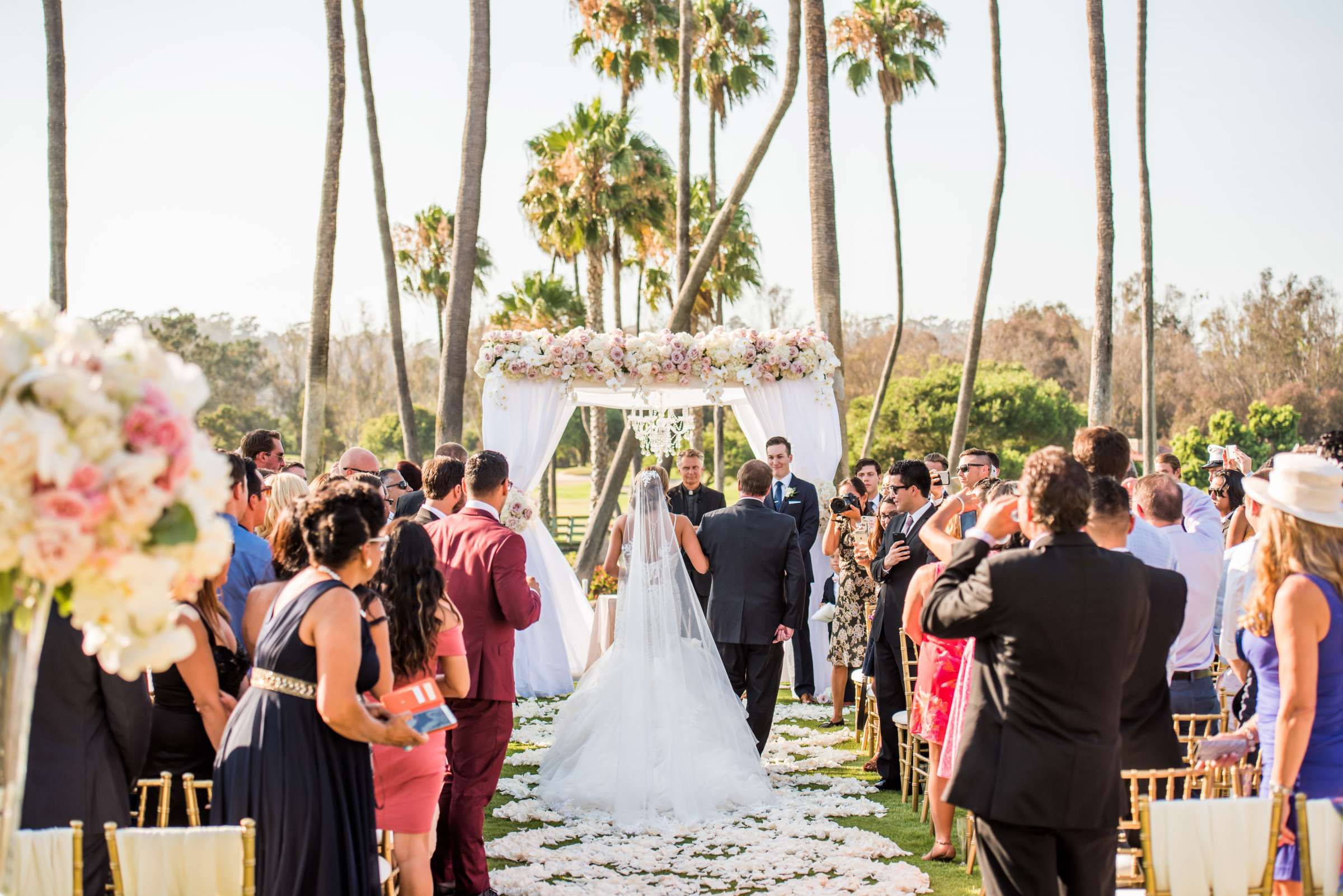 Fairbanks Ranch Country Club Wedding coordinated by Monarch Weddings, Gabriella and Kyle Wedding Photo #14 by True Photography