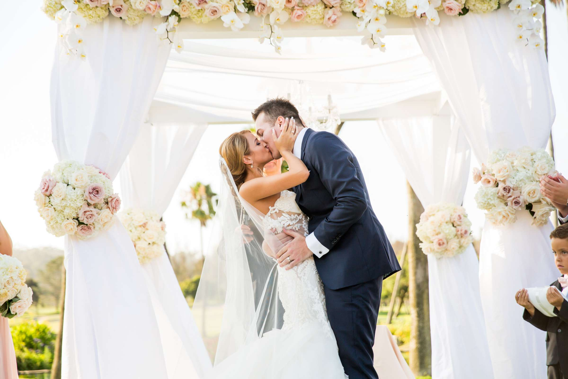 Fairbanks Ranch Country Club Wedding coordinated by Monarch Weddings, Gabriella and Kyle Wedding Photo #15 by True Photography