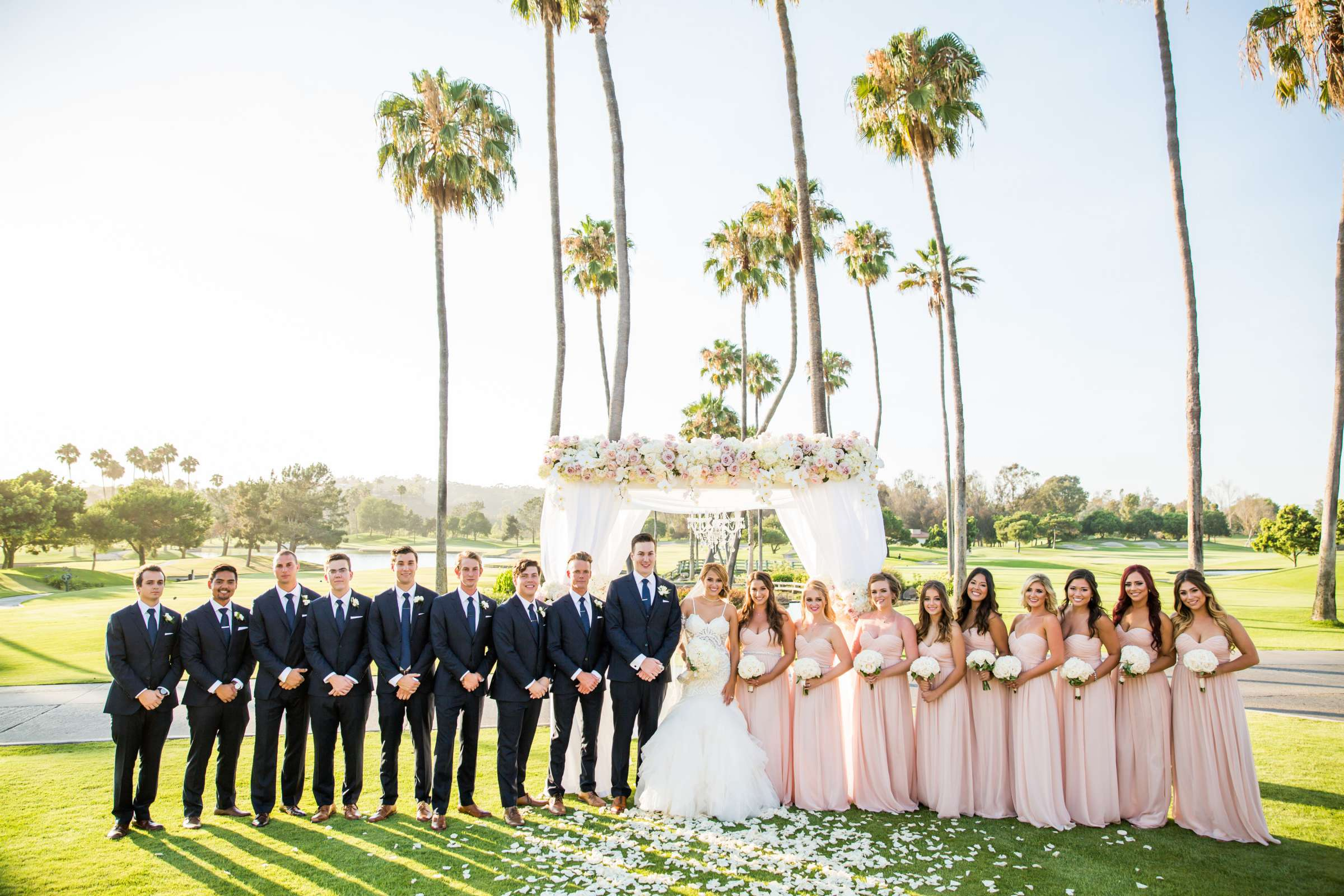 Fairbanks Ranch Country Club Wedding coordinated by Monarch Weddings, Gabriella and Kyle Wedding Photo #16 by True Photography