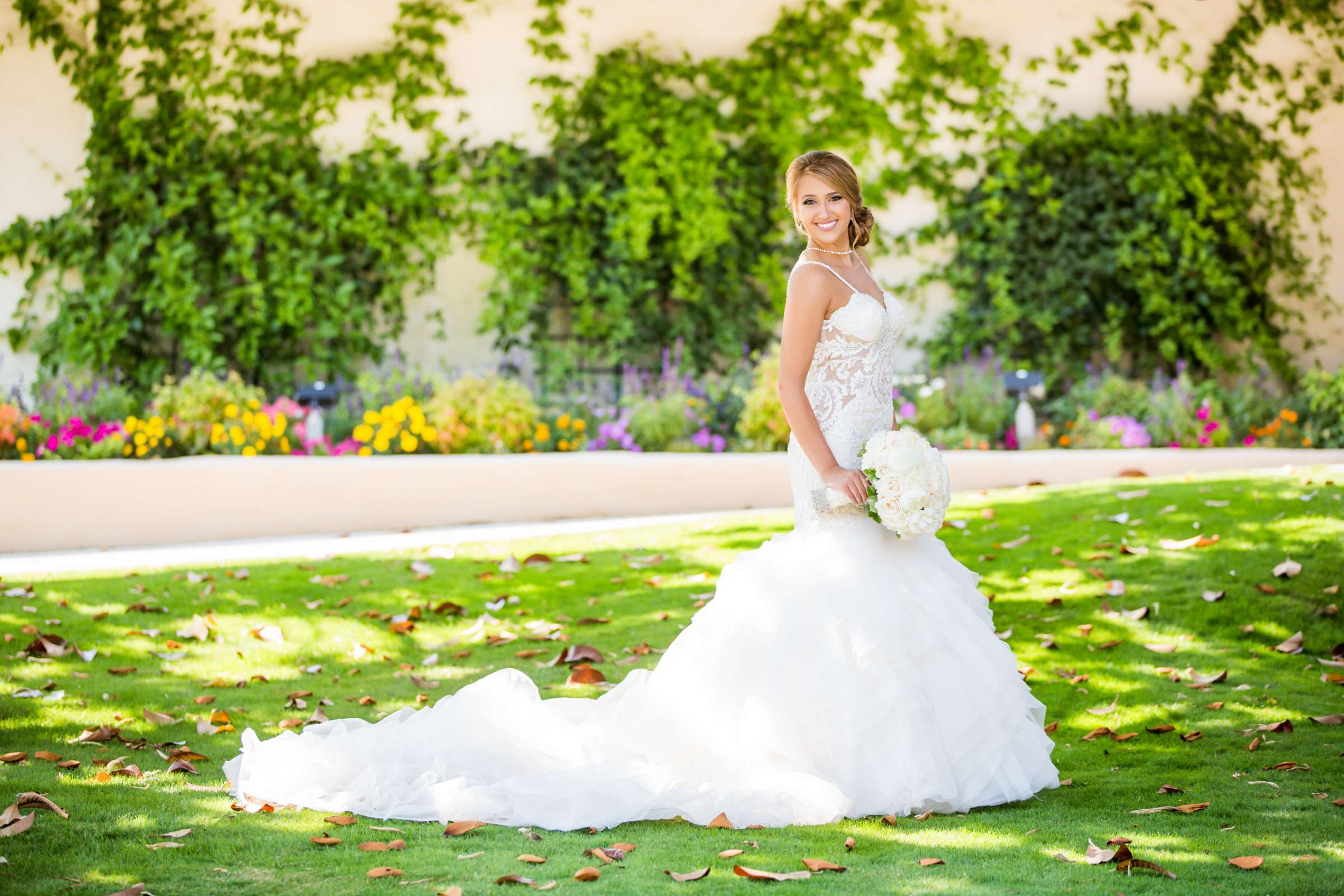 Fairbanks Ranch Country Club Wedding coordinated by Monarch Weddings, Gabriella and Kyle Wedding Photo #58 by True Photography