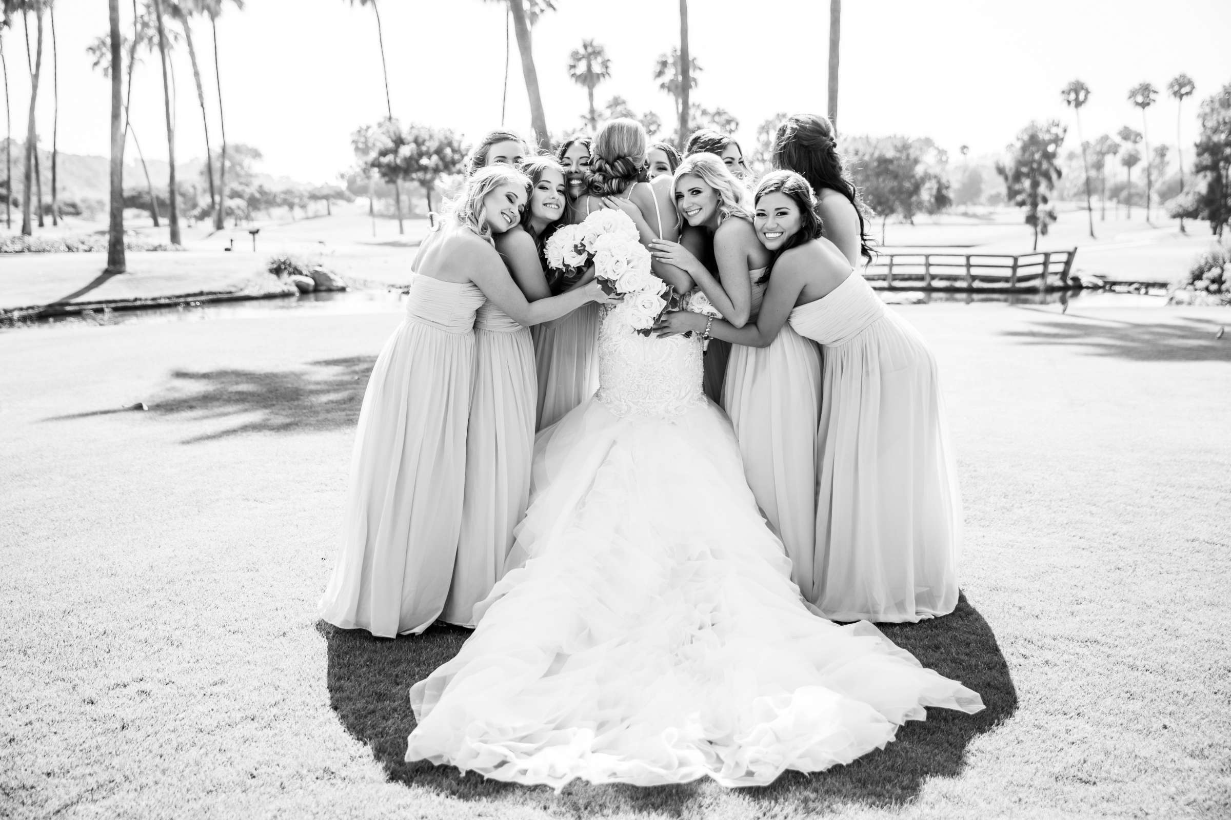 Fairbanks Ranch Country Club Wedding coordinated by Monarch Weddings, Gabriella and Kyle Wedding Photo #72 by True Photography