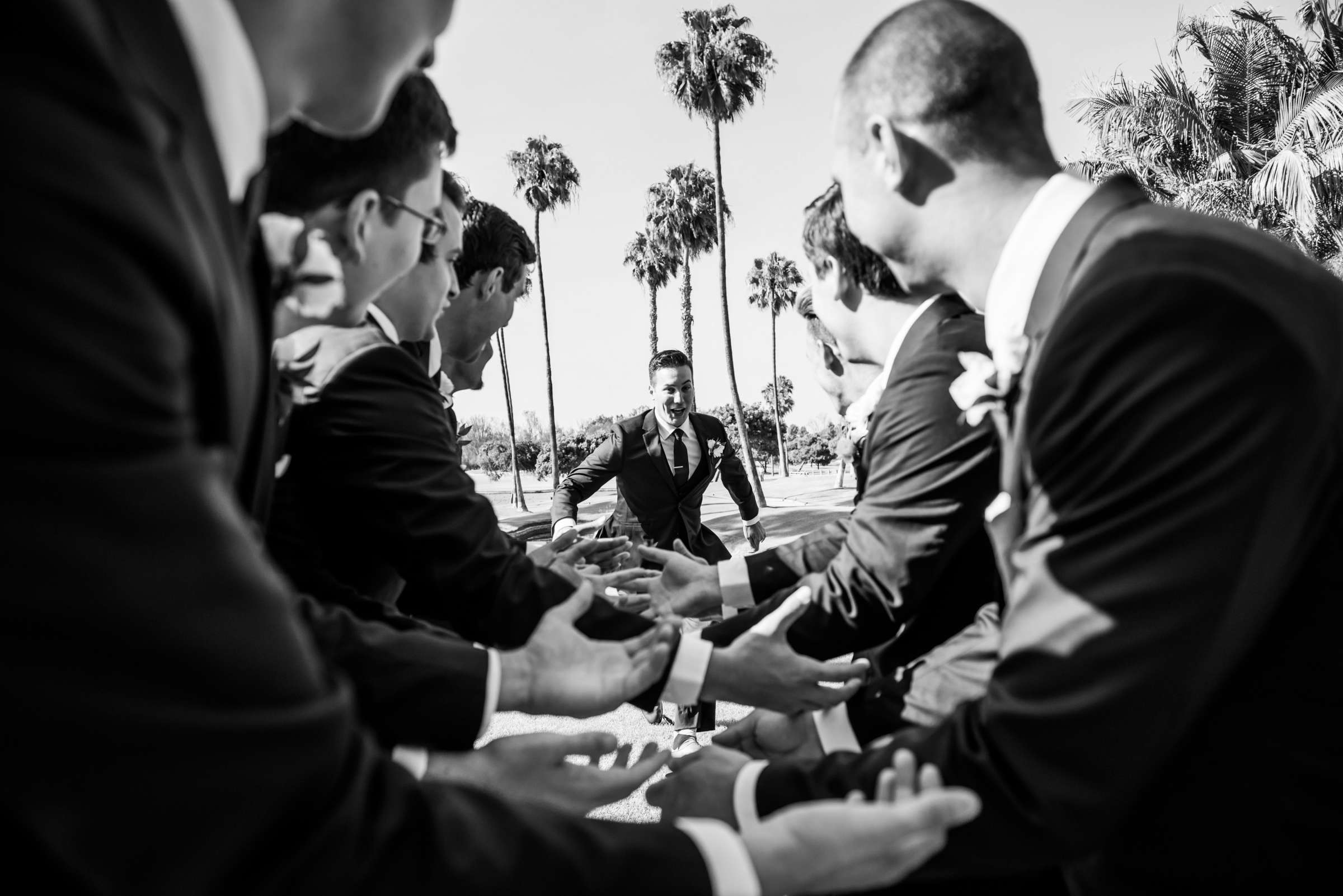 Fairbanks Ranch Country Club Wedding coordinated by Monarch Weddings, Gabriella and Kyle Wedding Photo #74 by True Photography