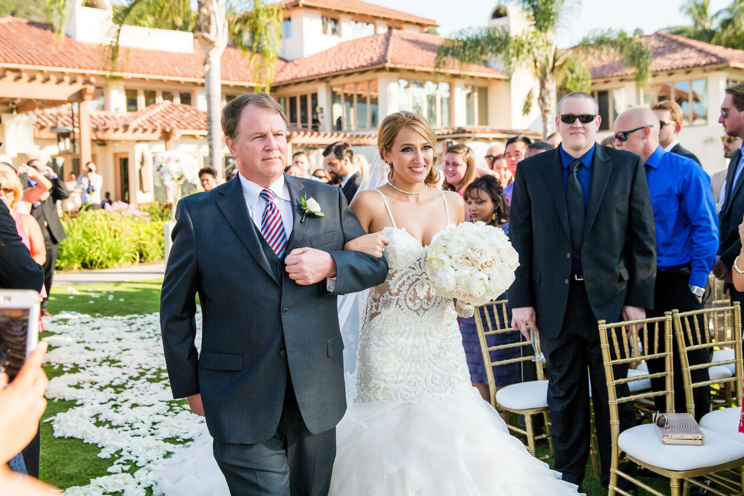 Fairbanks Ranch Country Club Wedding coordinated by Monarch Weddings, Gabriella and Kyle Wedding Photo #84 by True Photography