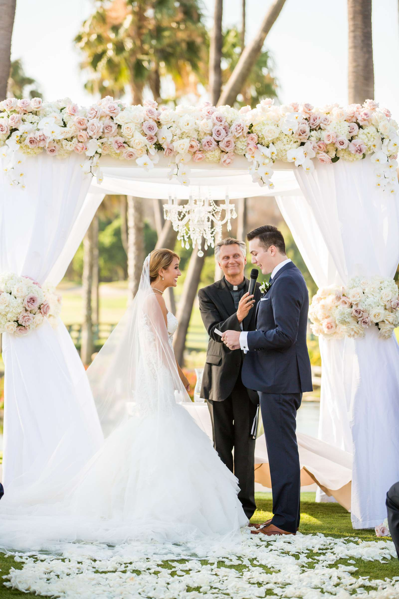 Fairbanks Ranch Country Club Wedding coordinated by Monarch Weddings, Gabriella and Kyle Wedding Photo #87 by True Photography