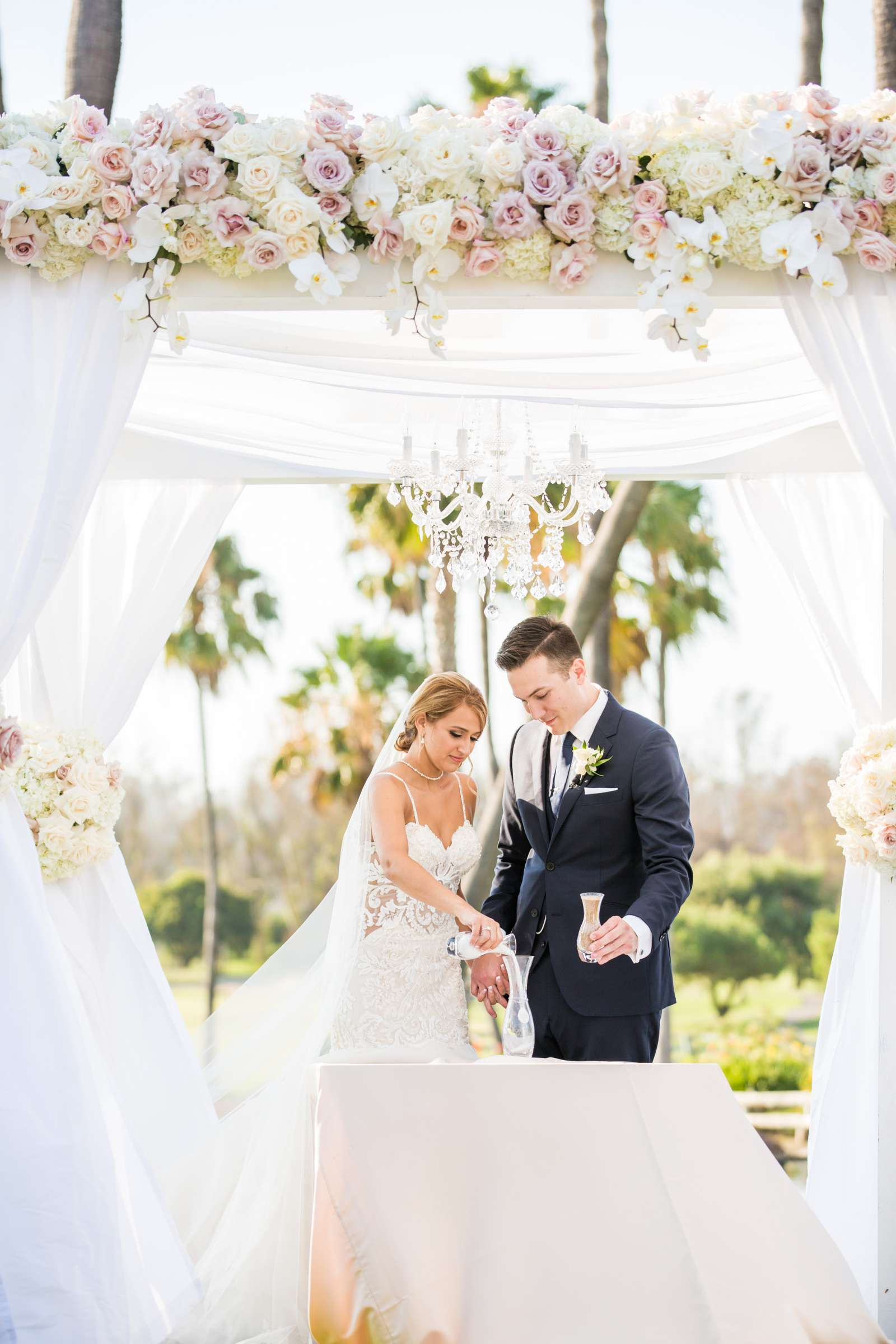 Fairbanks Ranch Country Club Wedding coordinated by Monarch Weddings, Gabriella and Kyle Wedding Photo #92 by True Photography