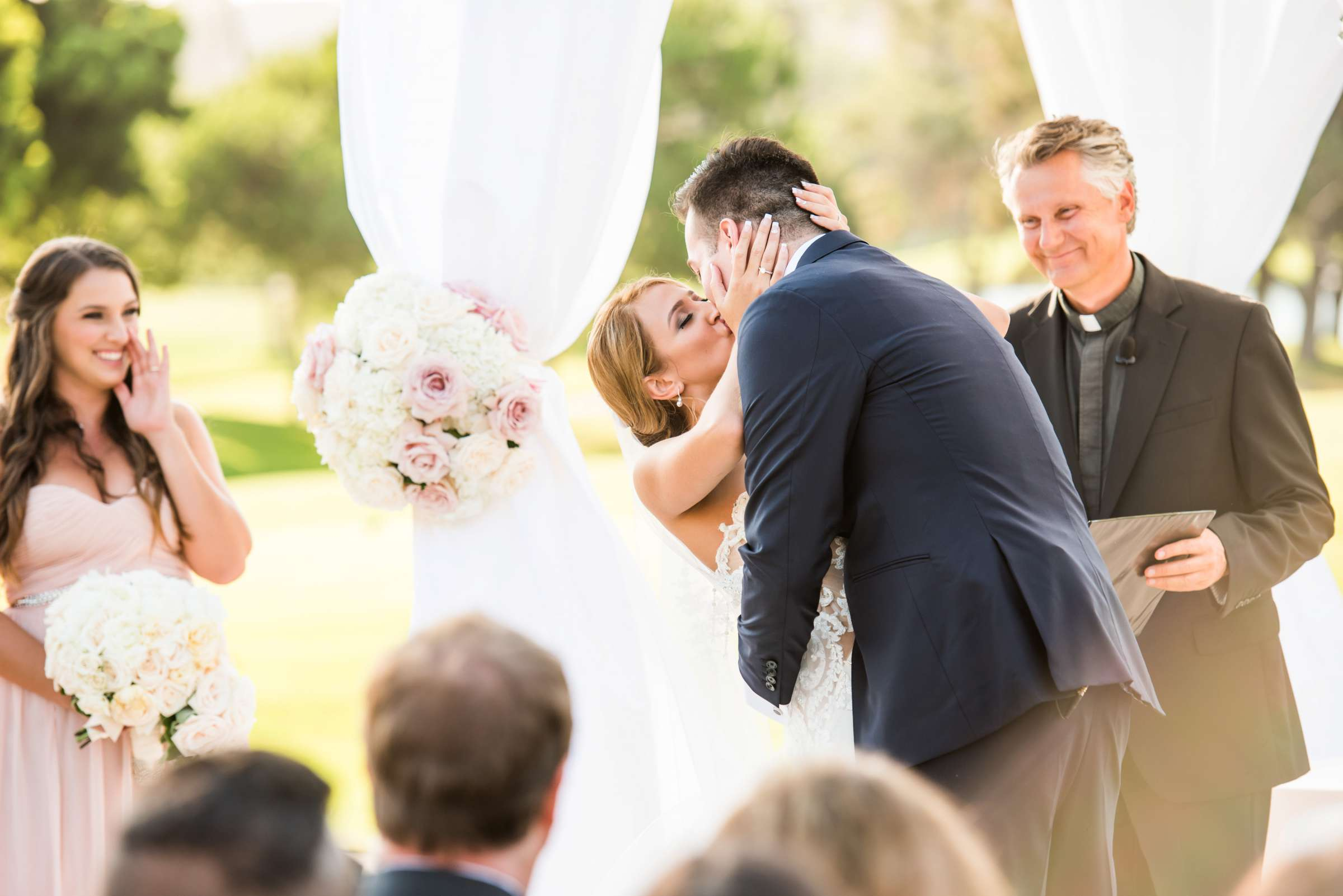 Fairbanks Ranch Country Club Wedding coordinated by Monarch Weddings, Gabriella and Kyle Wedding Photo #94 by True Photography