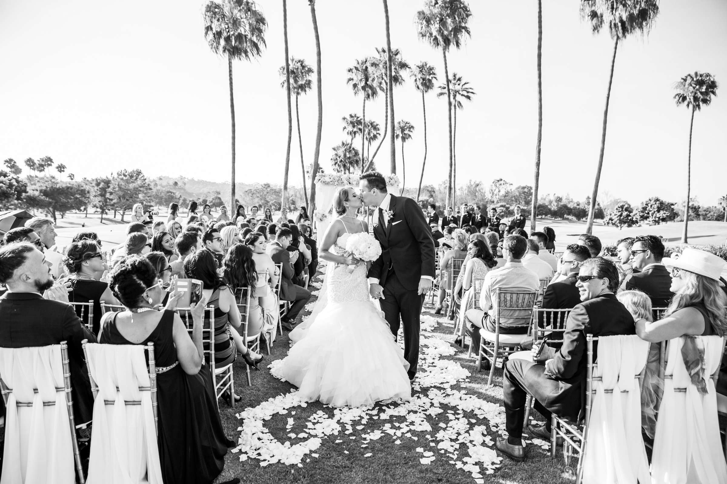 Fairbanks Ranch Country Club Wedding coordinated by Monarch Weddings, Gabriella and Kyle Wedding Photo #97 by True Photography