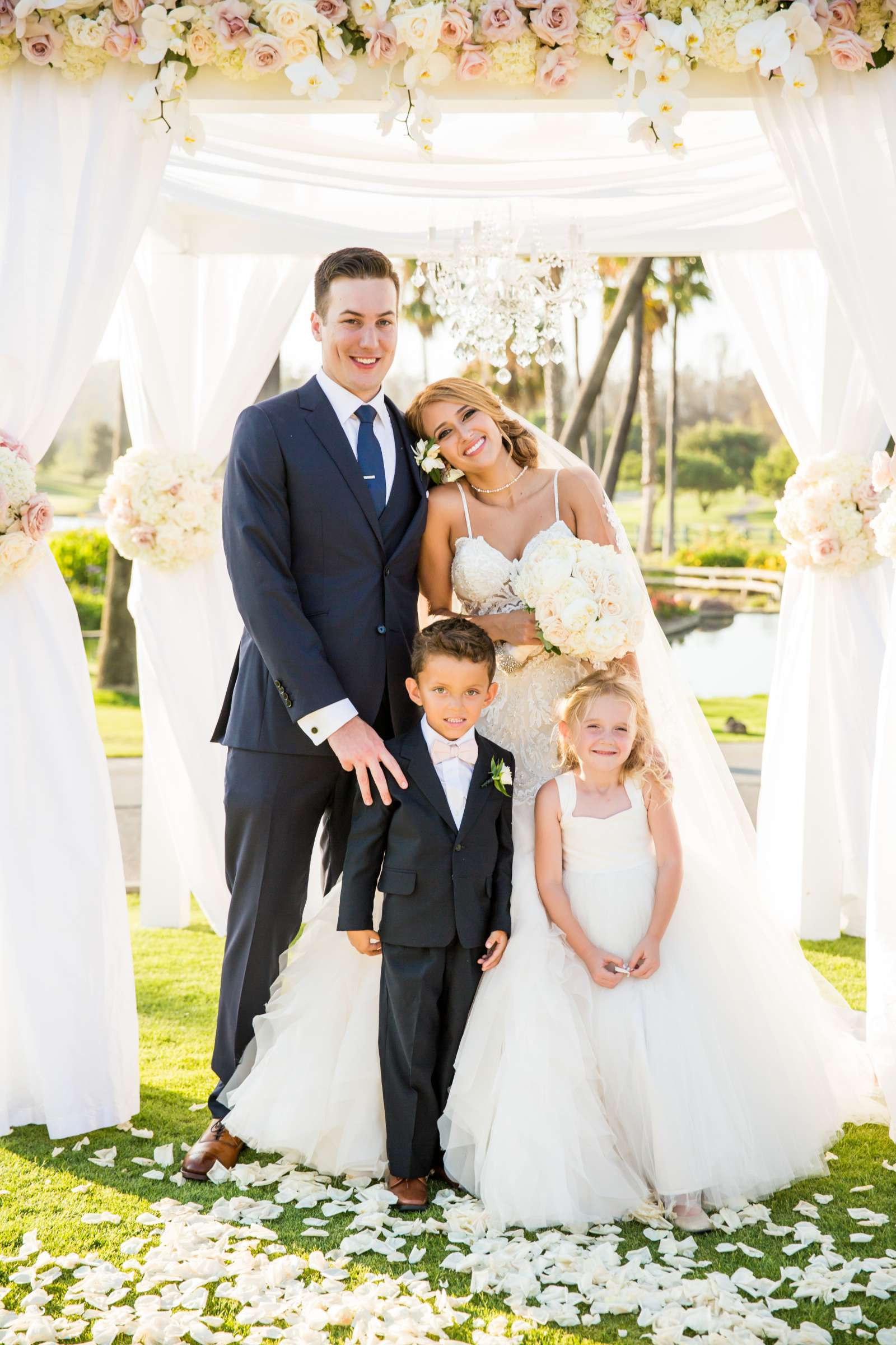 Fairbanks Ranch Country Club Wedding coordinated by Monarch Weddings, Gabriella and Kyle Wedding Photo #99 by True Photography