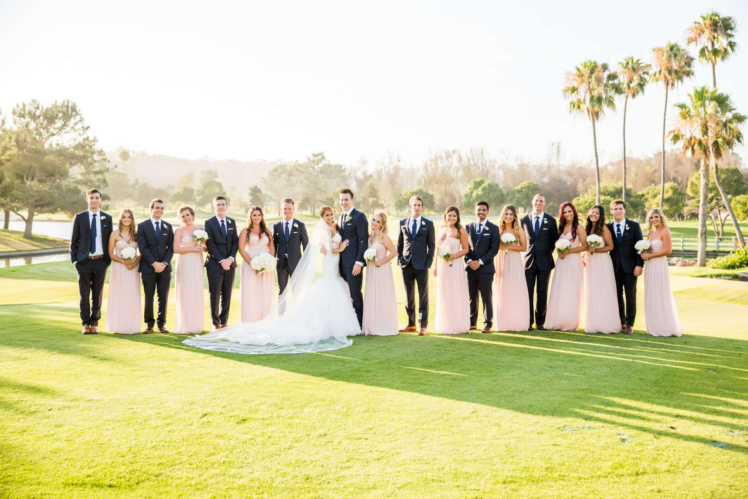 Fairbanks Ranch Country Club Wedding coordinated by Monarch Weddings, Gabriella and Kyle Wedding Photo #102 by True Photography