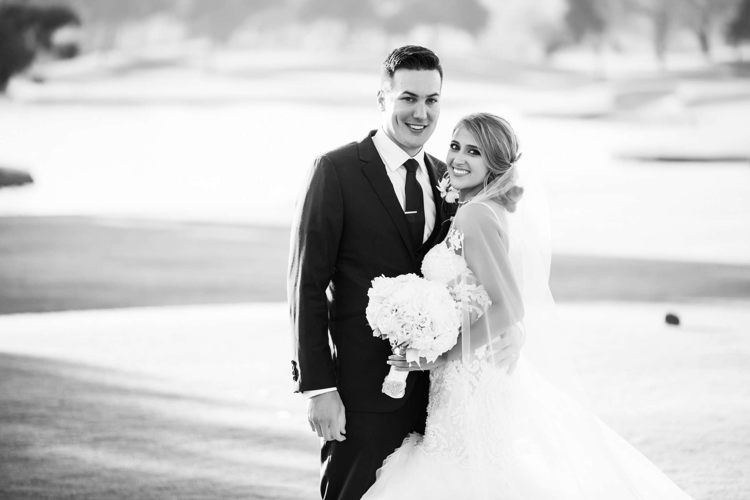Fairbanks Ranch Country Club Wedding coordinated by Monarch Weddings, Gabriella and Kyle Wedding Photo #104 by True Photography