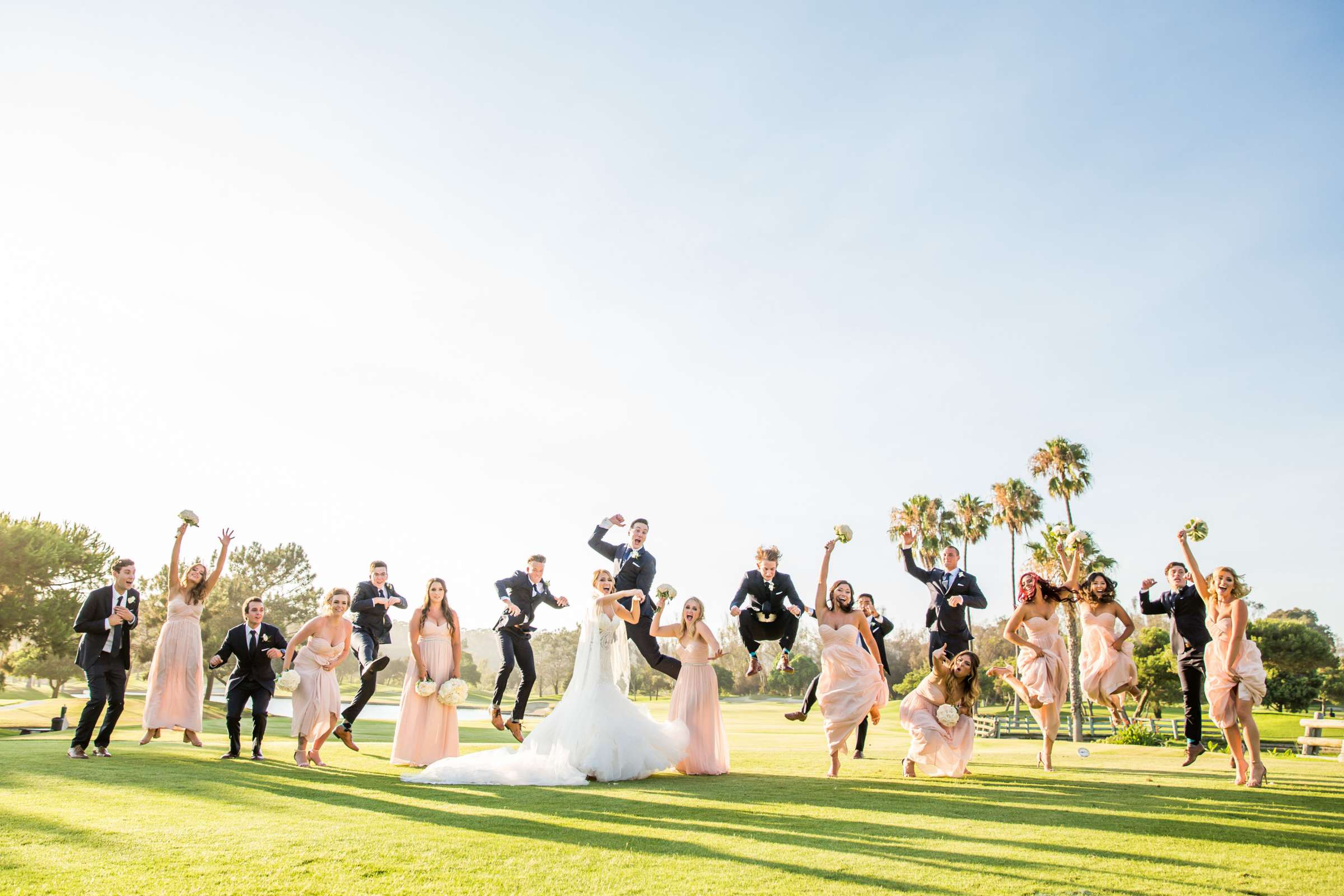 Fairbanks Ranch Country Club Wedding coordinated by Monarch Weddings, Gabriella and Kyle Wedding Photo #105 by True Photography
