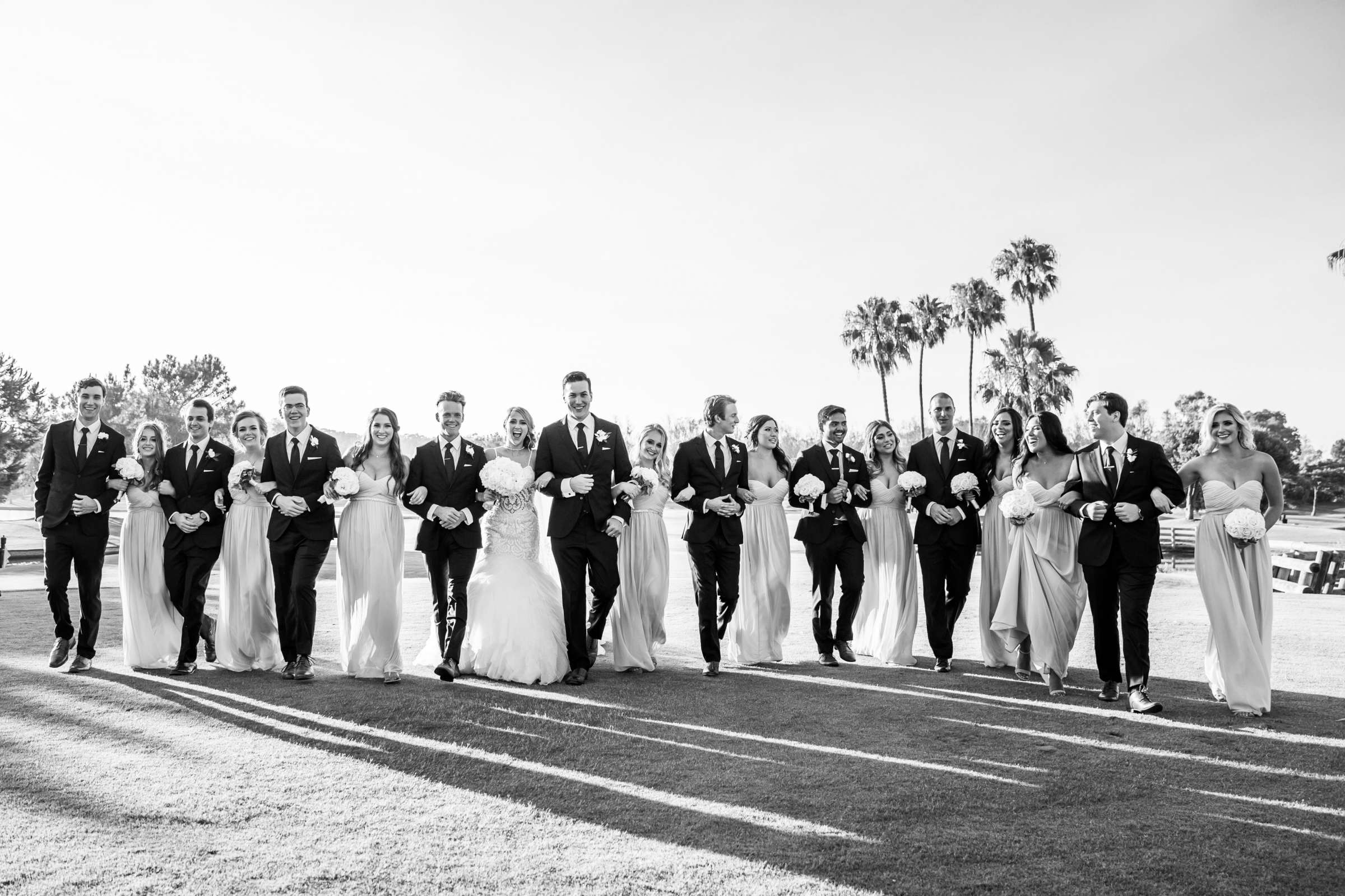 Fairbanks Ranch Country Club Wedding coordinated by Monarch Weddings, Gabriella and Kyle Wedding Photo #108 by True Photography