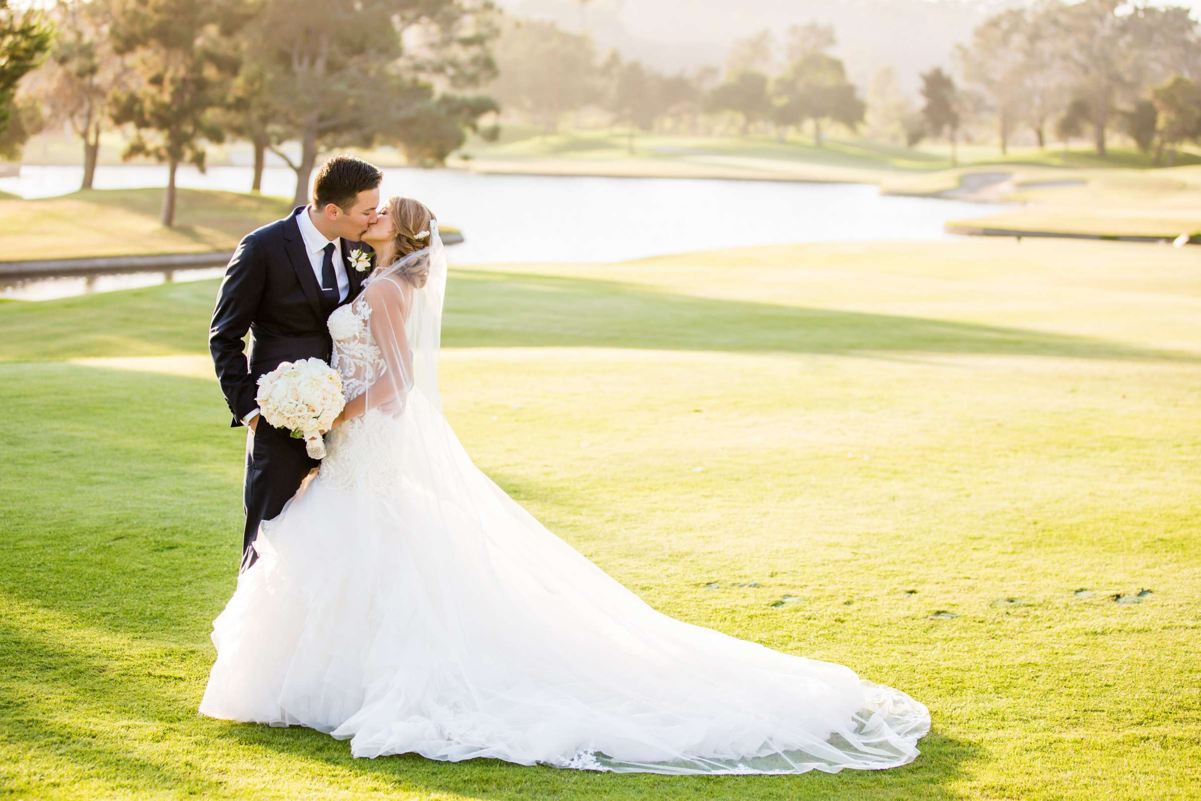 Fairbanks Ranch Country Club Wedding coordinated by Monarch Weddings, Gabriella and Kyle Wedding Photo #109 by True Photography