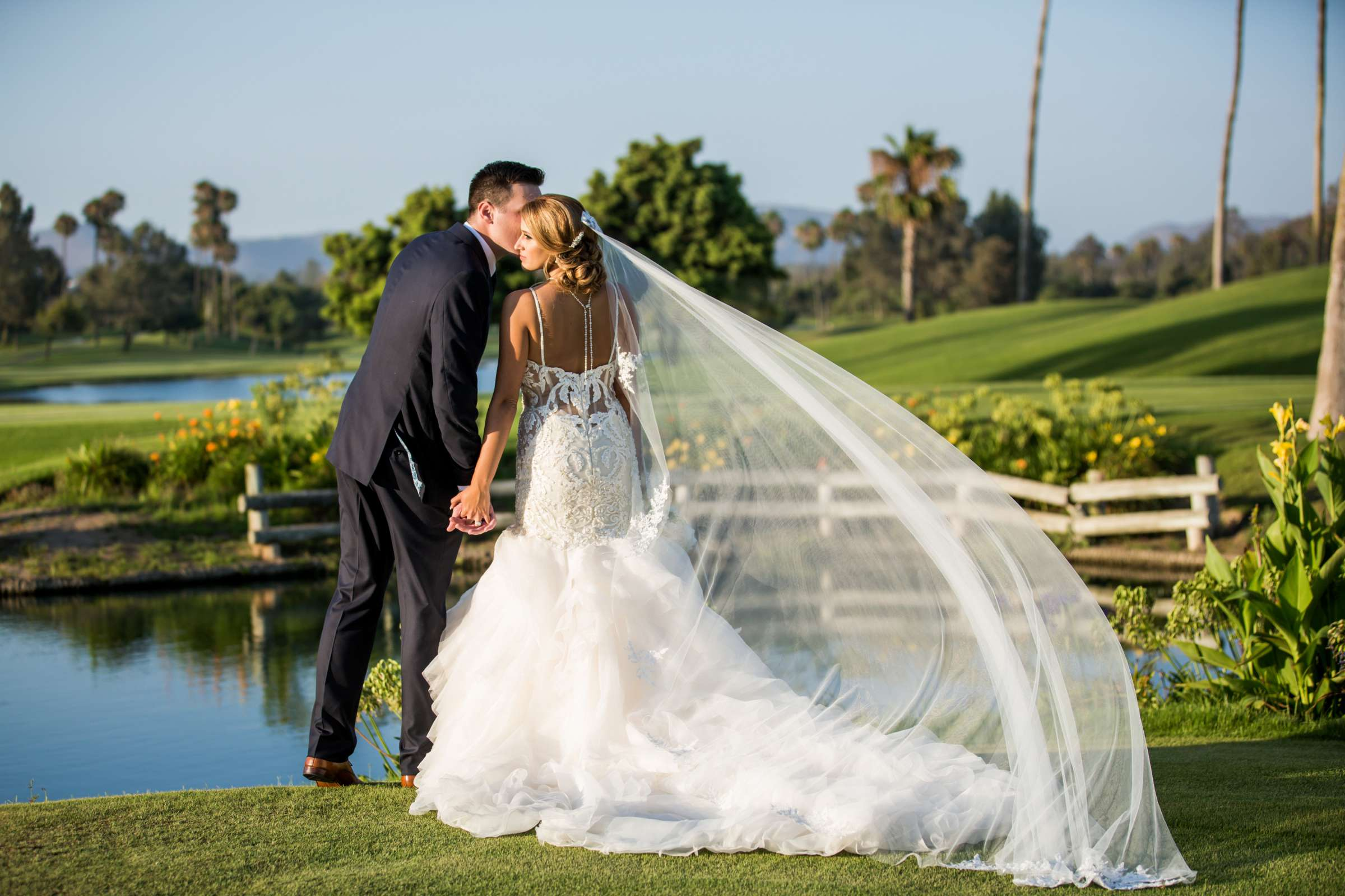 Fairbanks Ranch Country Club Wedding coordinated by Monarch Weddings, Gabriella and Kyle Wedding Photo #114 by True Photography