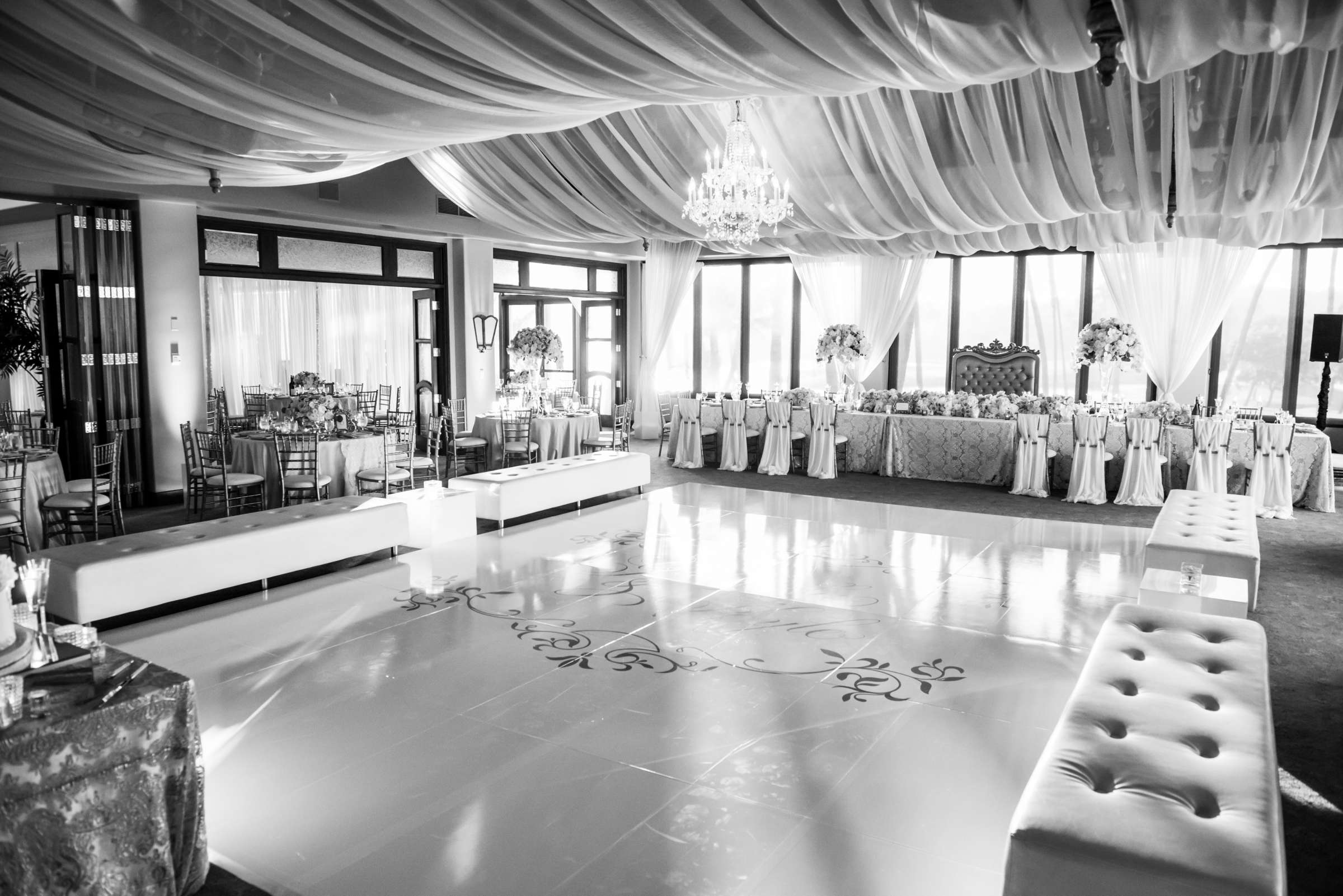 Fairbanks Ranch Country Club Wedding coordinated by Monarch Weddings, Gabriella and Kyle Wedding Photo #123 by True Photography