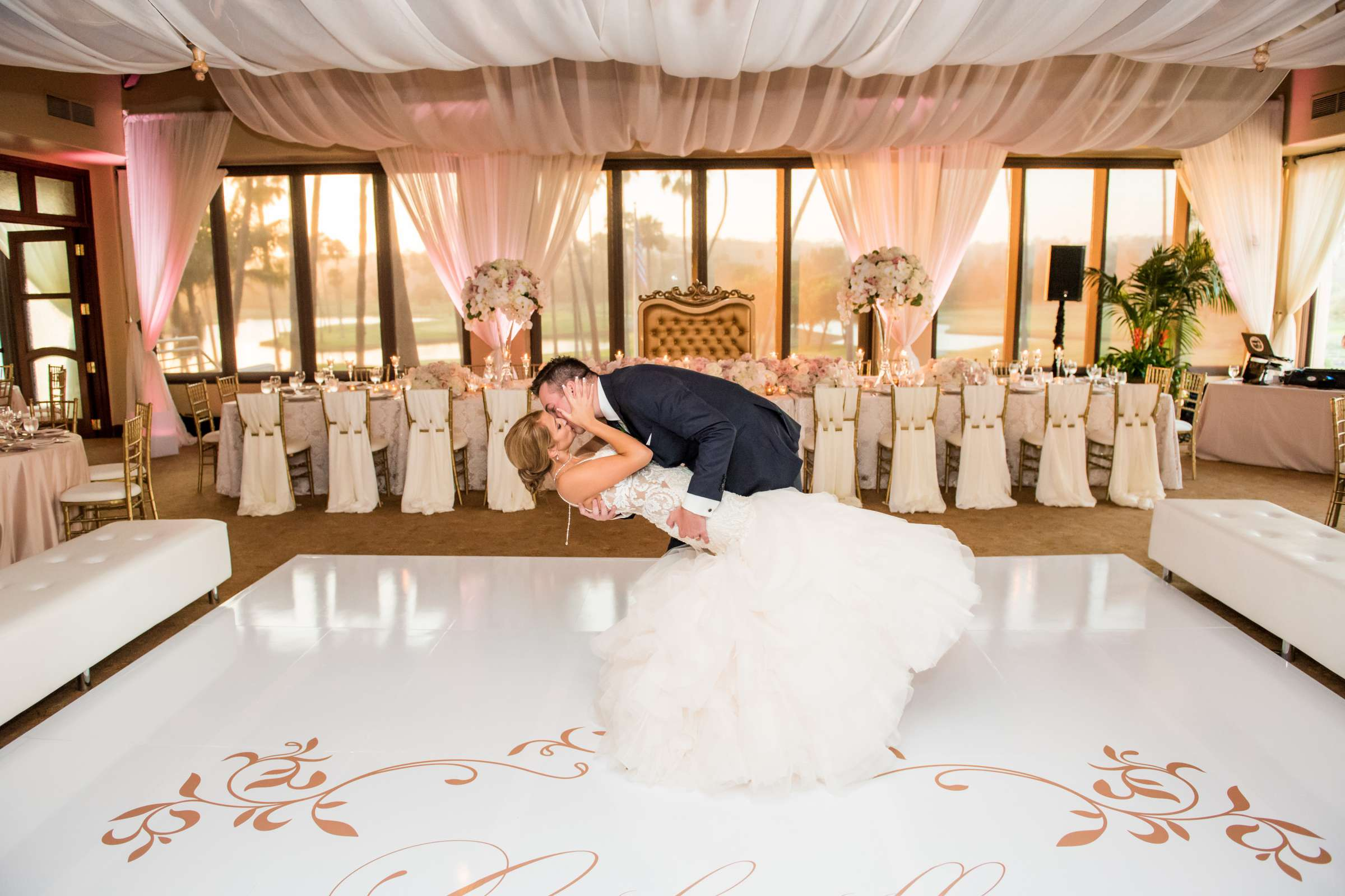 Fairbanks Ranch Country Club Wedding coordinated by Monarch Weddings, Gabriella and Kyle Wedding Photo #126 by True Photography