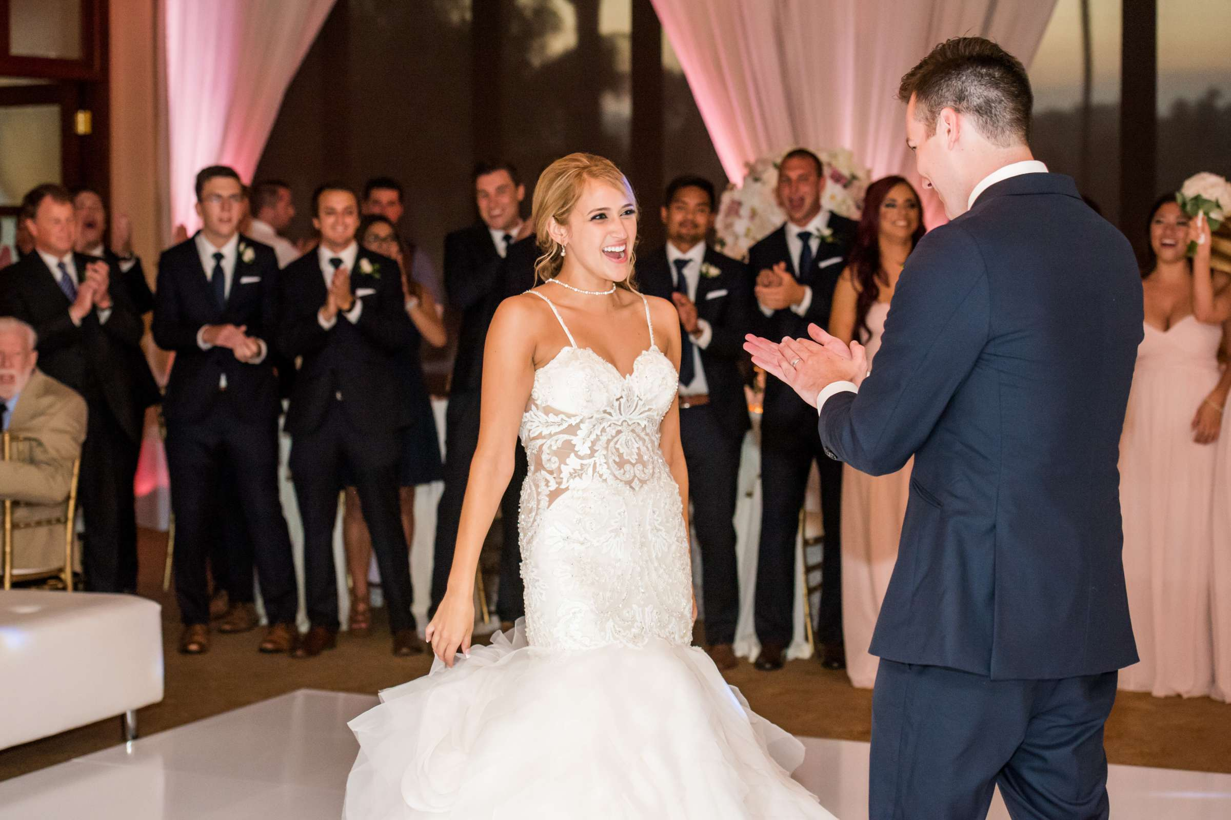 Fairbanks Ranch Country Club Wedding coordinated by Monarch Weddings, Gabriella and Kyle Wedding Photo #135 by True Photography