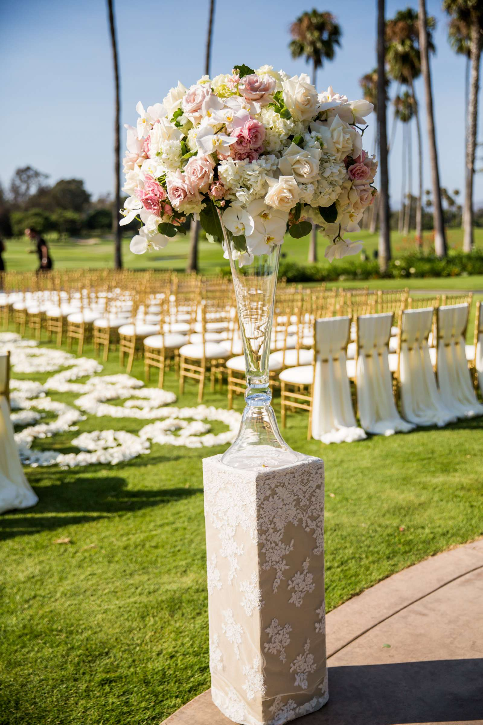 Fairbanks Ranch Country Club Wedding coordinated by Monarch Weddings, Gabriella and Kyle Wedding Photo #173 by True Photography