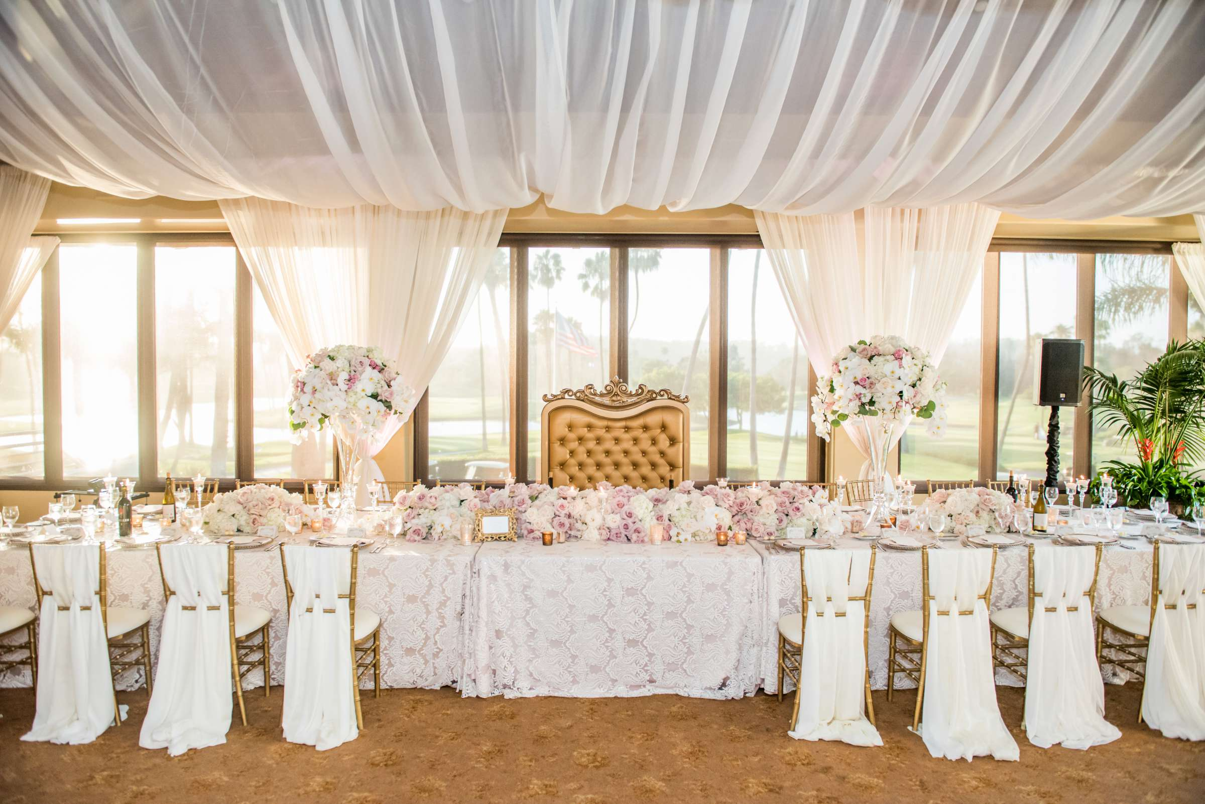 Fairbanks Ranch Country Club Wedding coordinated by Monarch Weddings, Gabriella and Kyle Wedding Photo #213 by True Photography