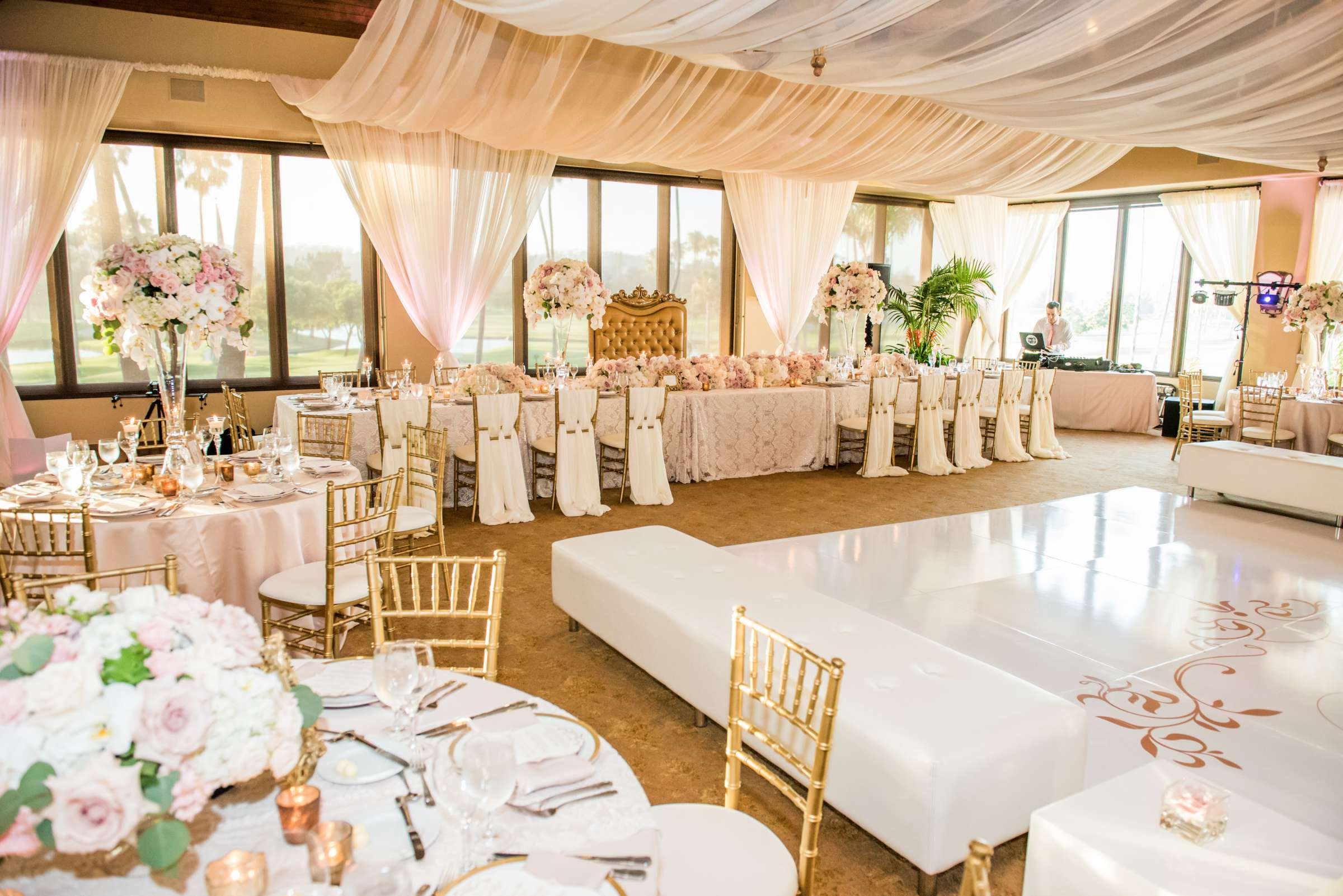 Fairbanks Ranch Country Club Wedding coordinated by Monarch Weddings, Gabriella and Kyle Wedding Photo #218 by True Photography